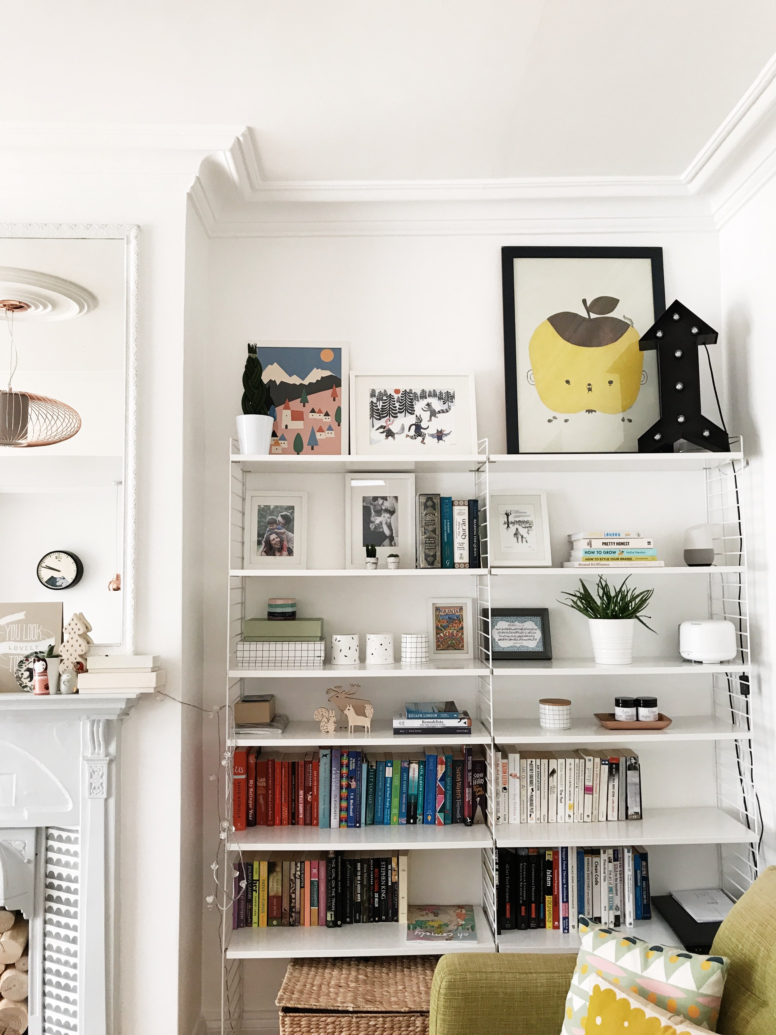 How To Style Open Shelves Our Story Time