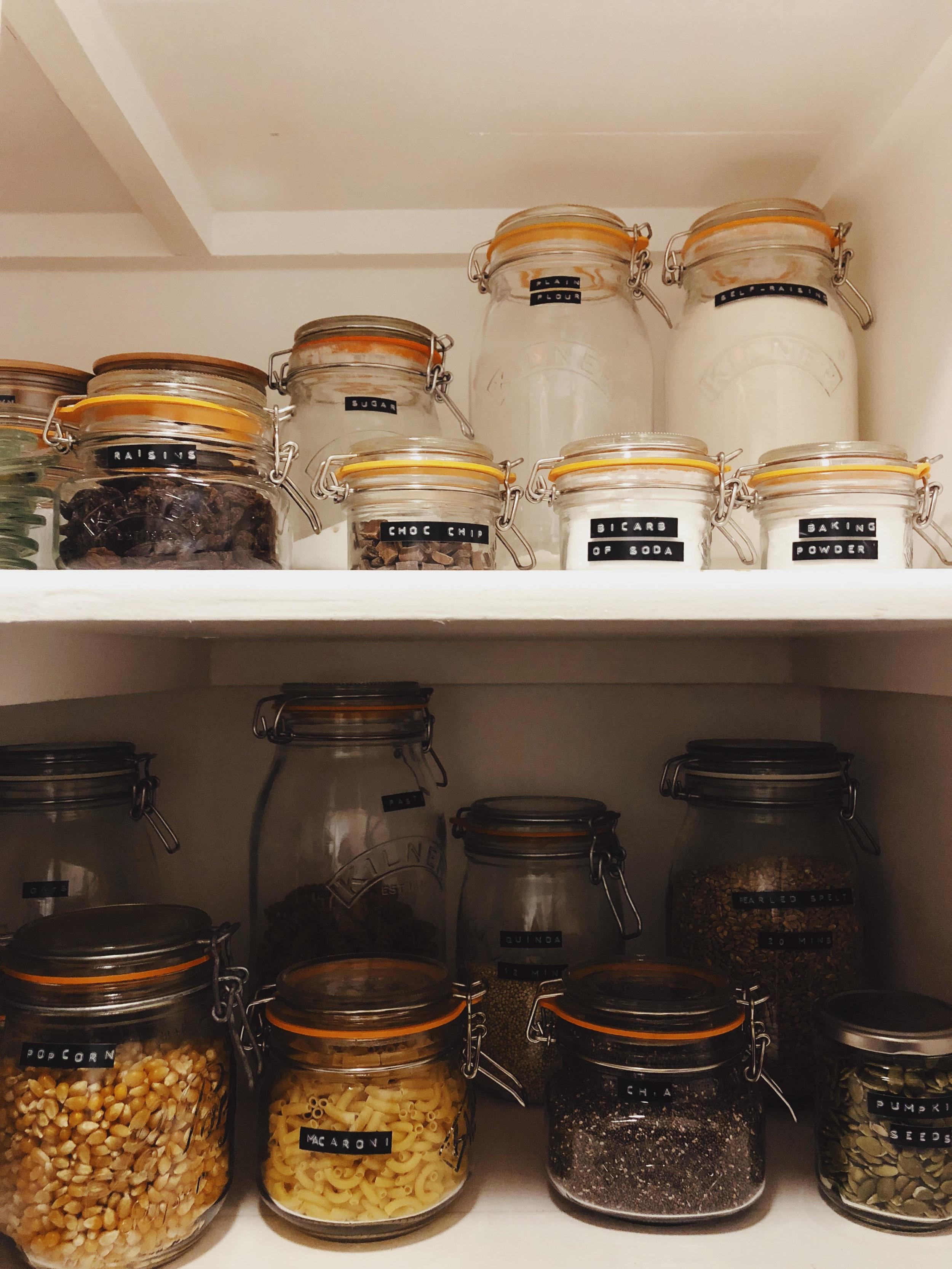 larder cupboard shelf larder storage kilner jars walk-in pantry larder cupboard pantry larder larder organisation storage shelves tiny kitchen maximise space 70 foot square kitchen ourstorytime.co.uk