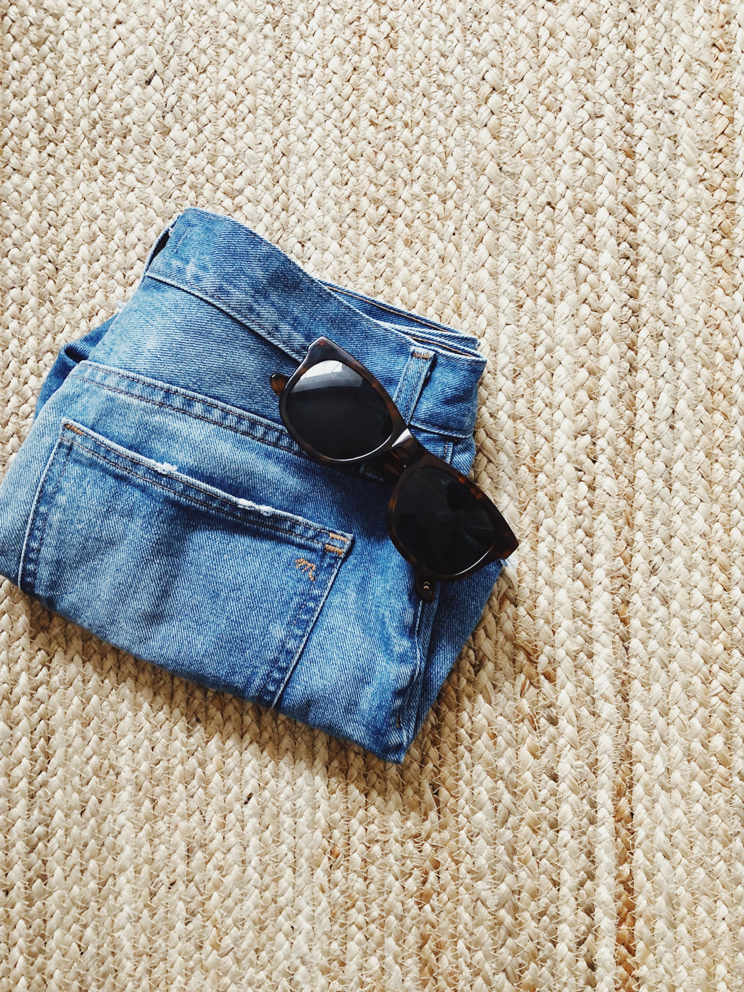 On finding clothes to wear in the summer - vintage denim jeans, capsule wardrobes and modest fashion and trying to figure it all out. More on my blog, Our Story Time ourstorytime.co.uk