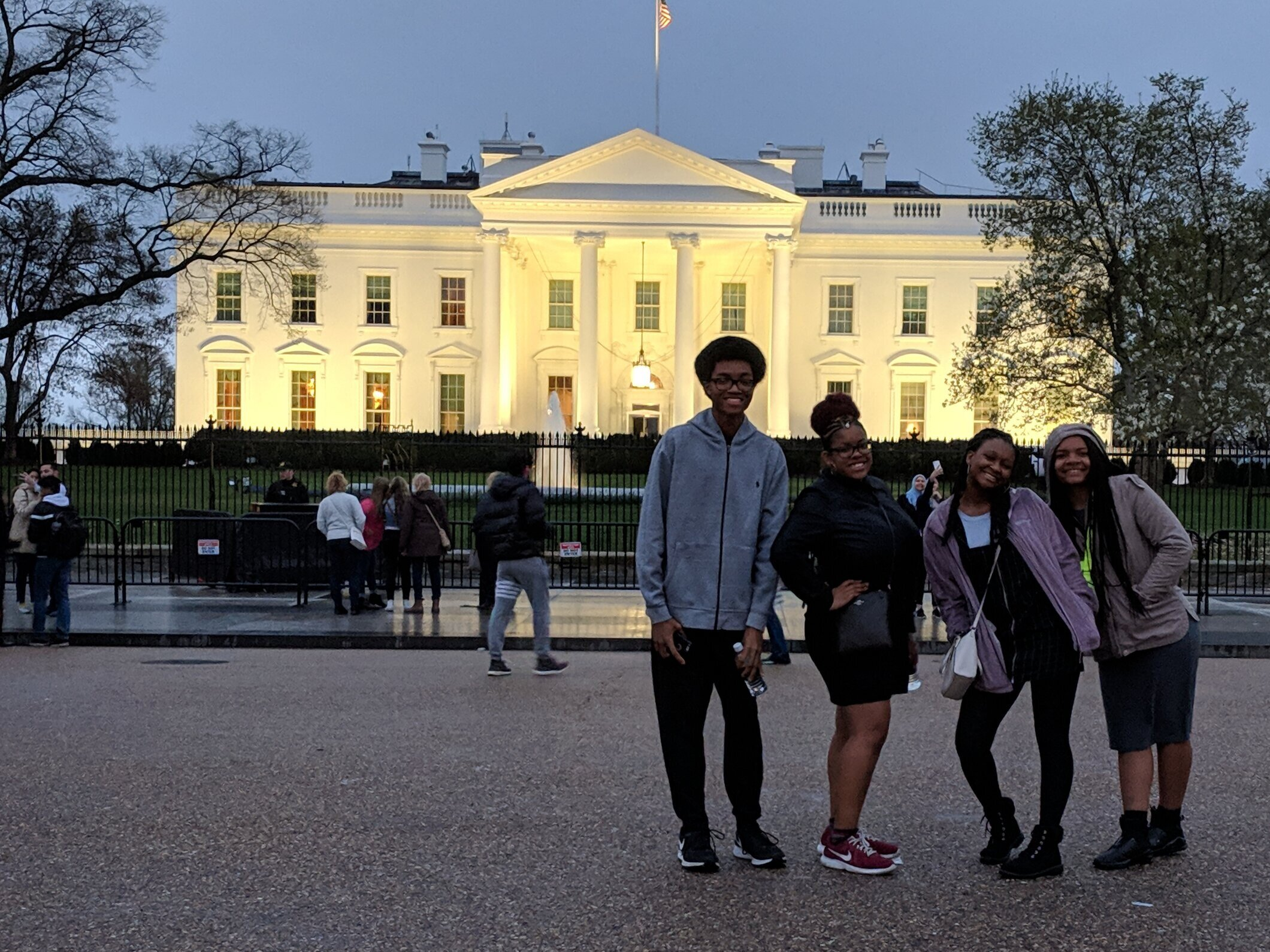 Up to 4 students will travel to DC to tour the National Museum of African American History & Culture, meet inspiring role models and visit other sites.