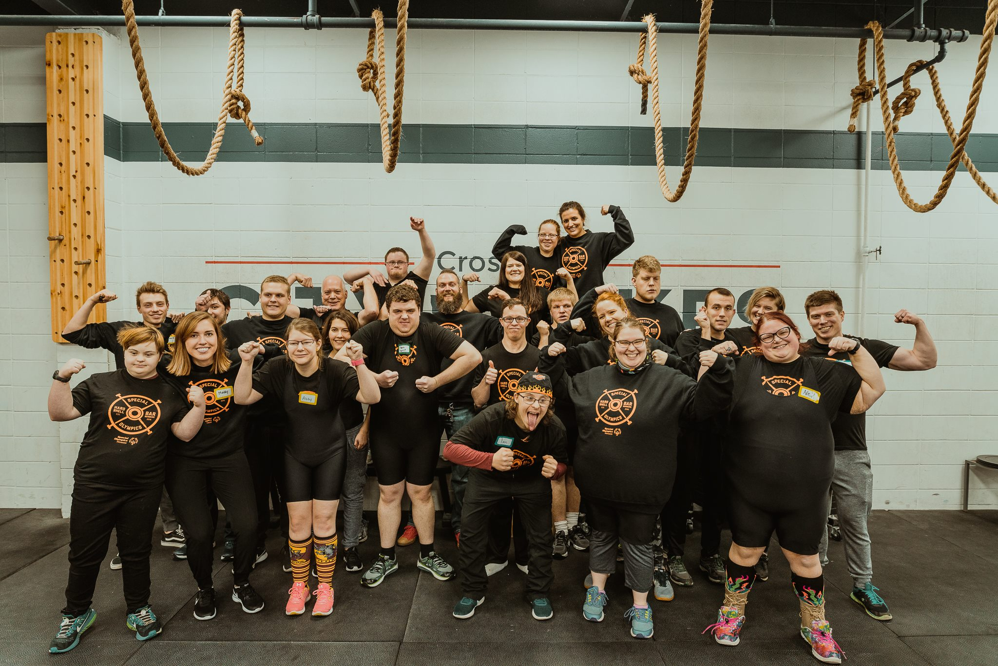 View all the photos from the mock meet at the    CrossFit City of Lake's Facebook page   .