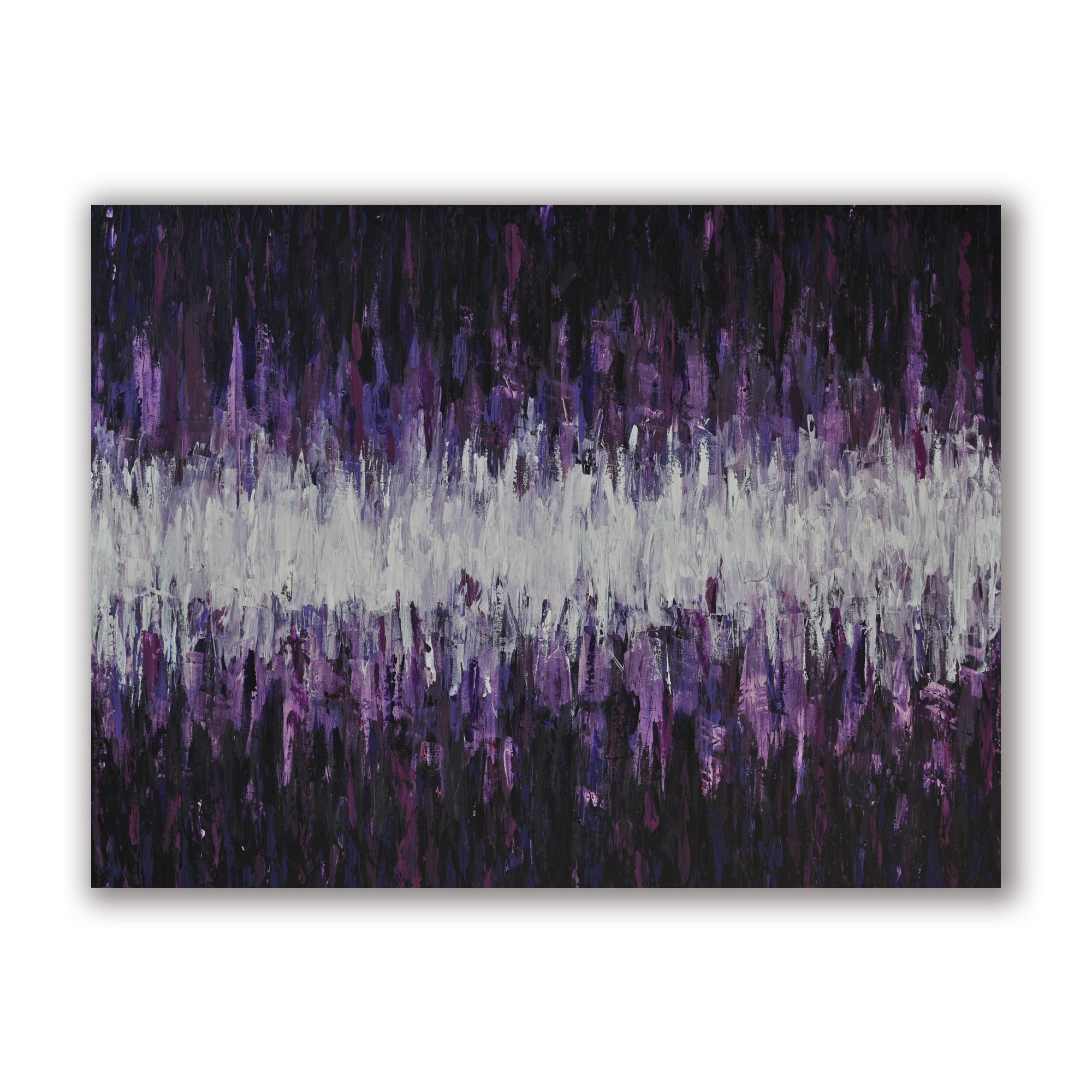 """""""Chromatic Calm"""" 36""""x48"""" Acrylic on Canvas.  Available."""