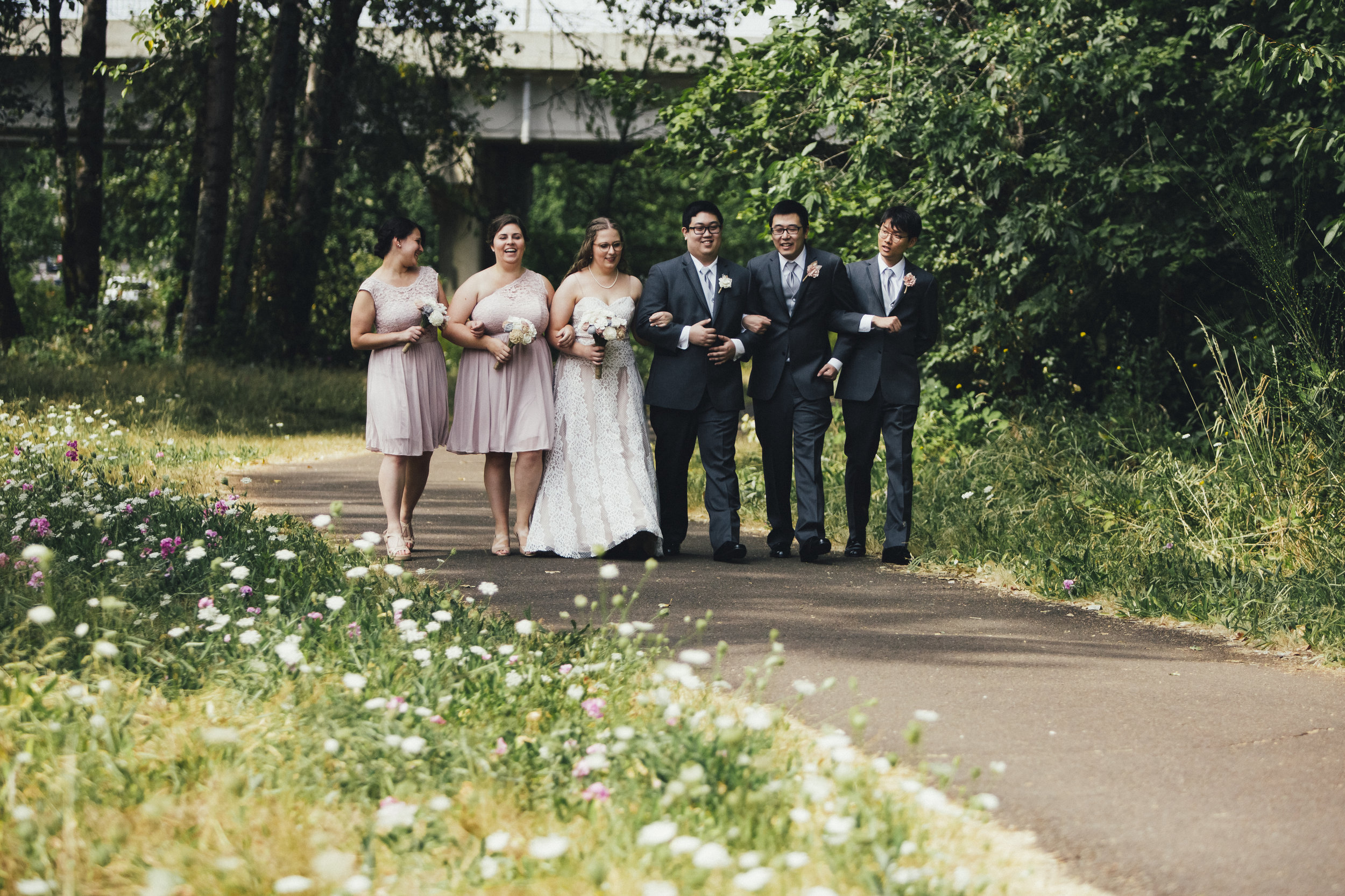 Kenny and Kelana Wedding in Corvallis, Oregon at The Vue