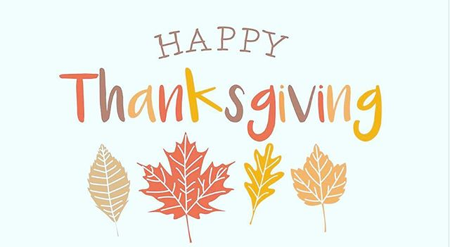 Wishing everyone a happy and safe Thanksgiving!  We wish the best to you and your families this Thanksgiving holiday.