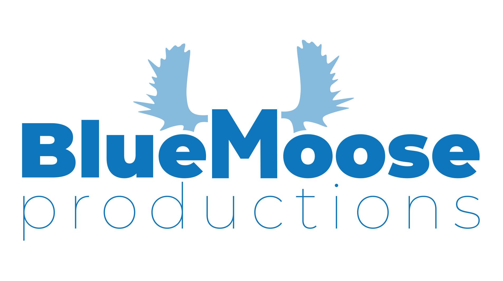 Blue Moose Productions - Logo Concept