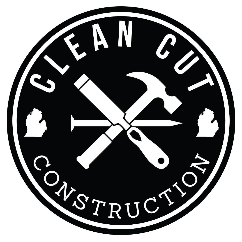 Clean Cut Construction - Logo Design