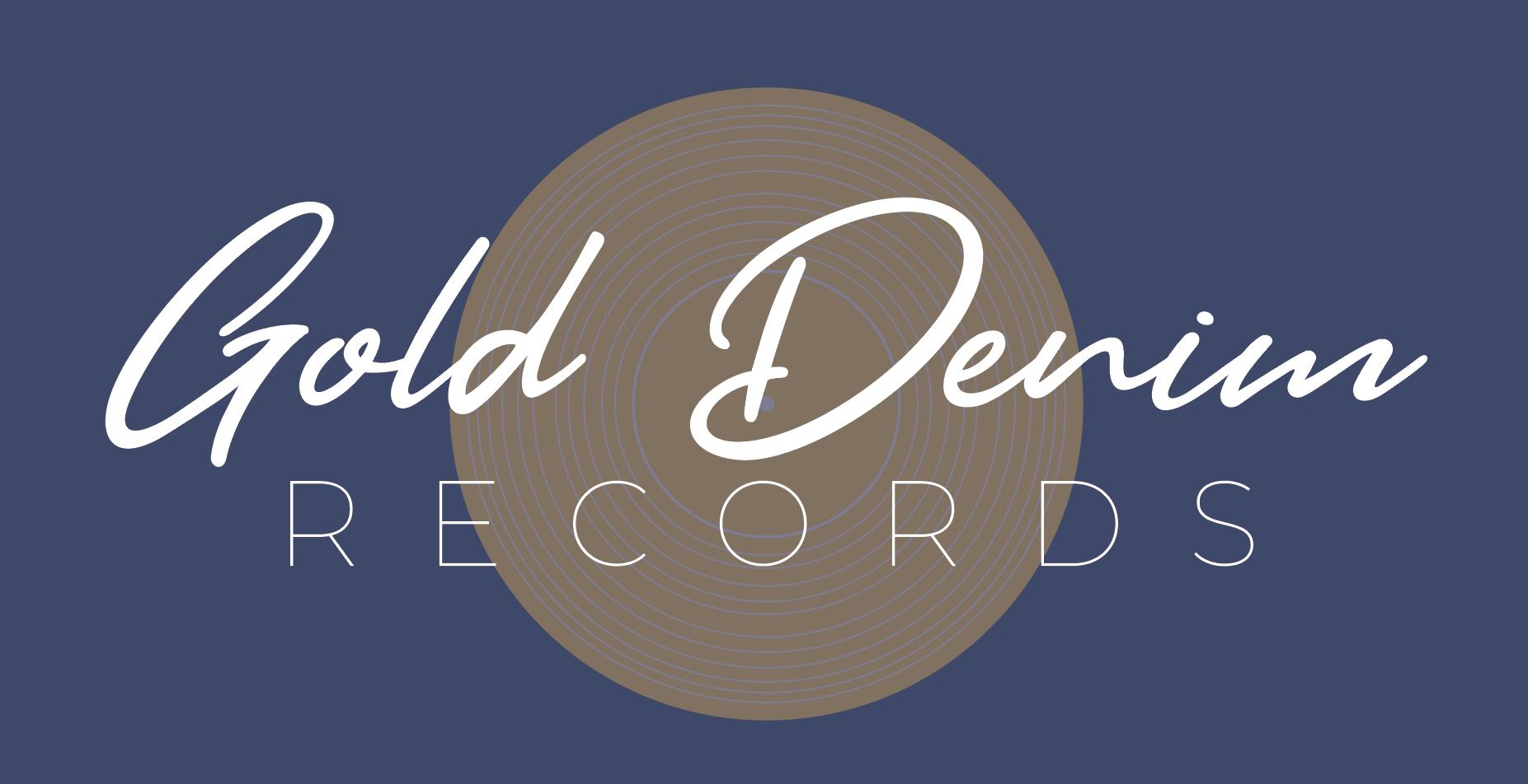 Gold Denim Records - Logo Concept