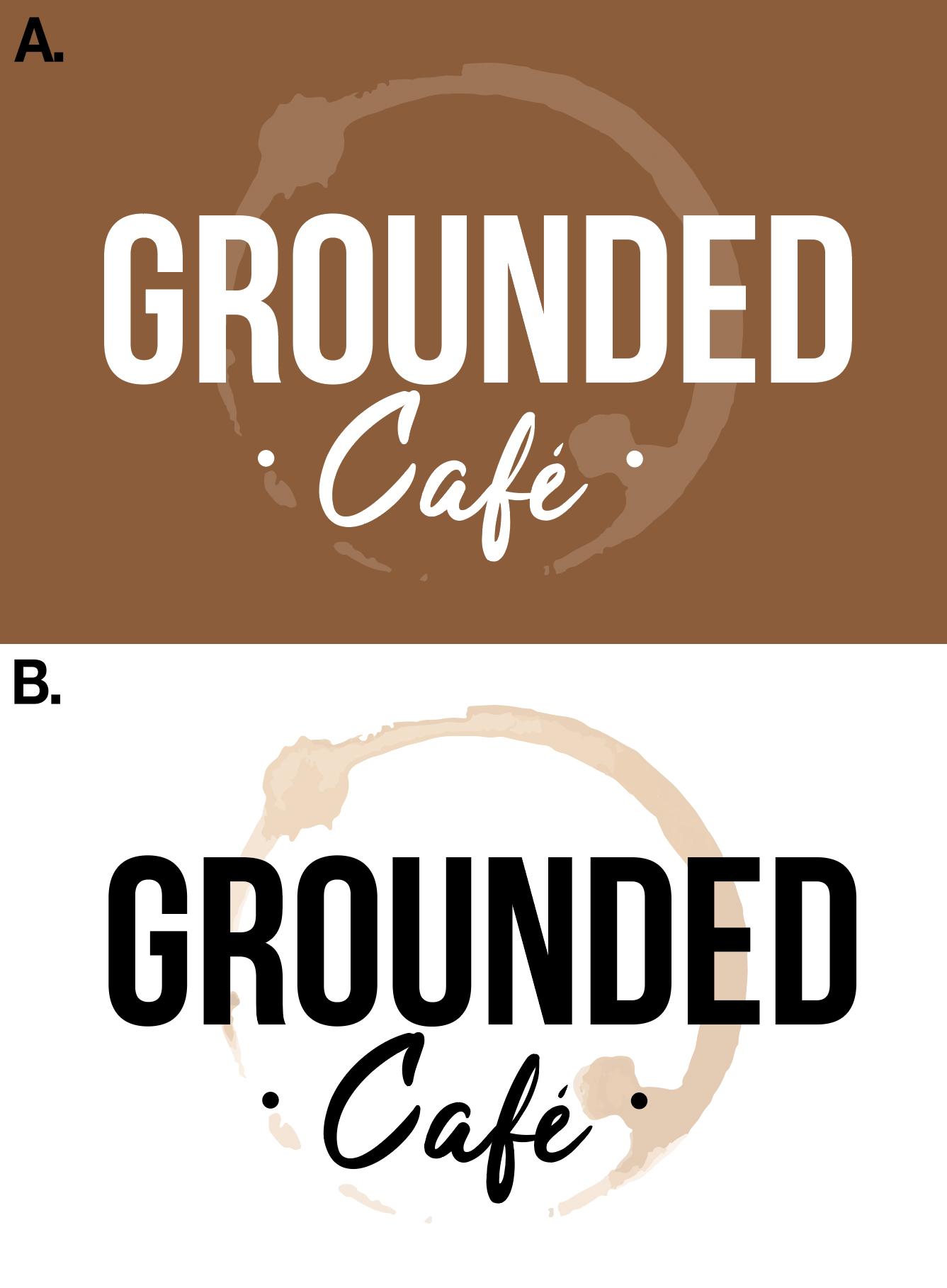 Grounded Cafe - Logo Design
