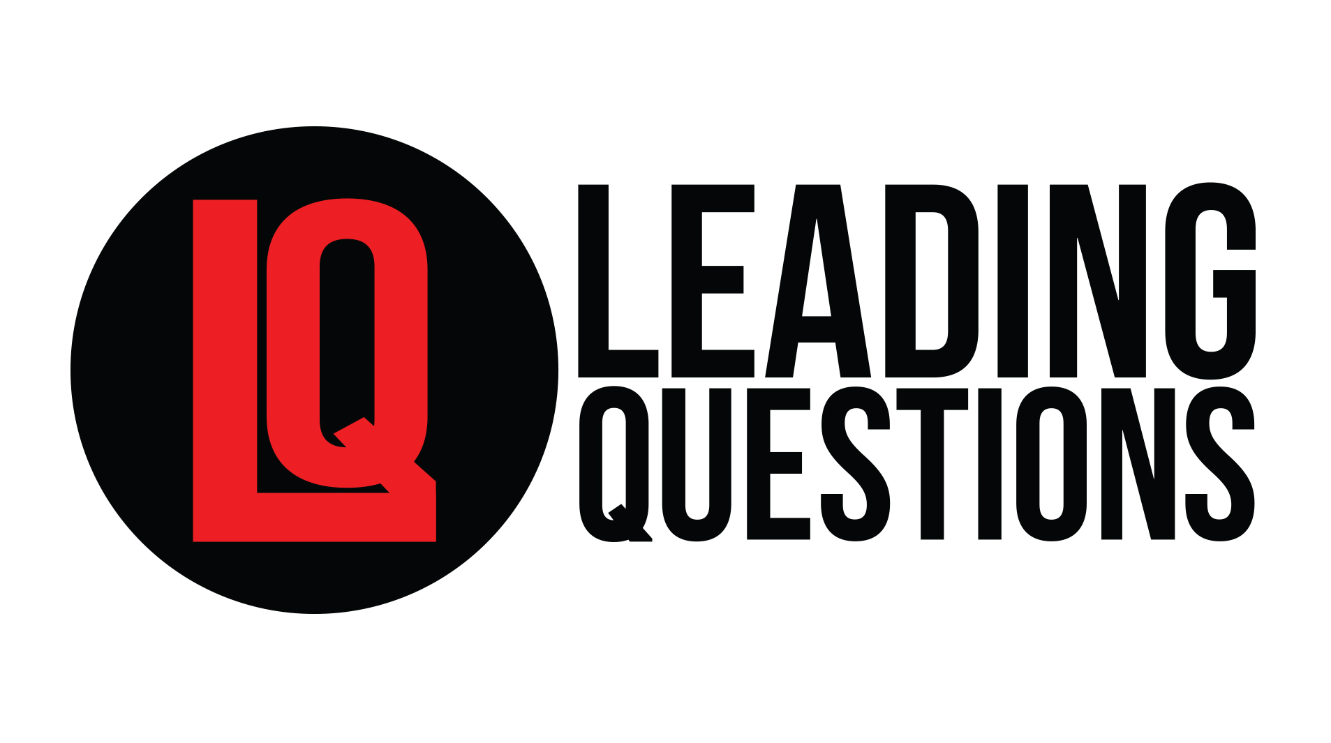 Leading Question w/ Calvin Moore - Logo Design