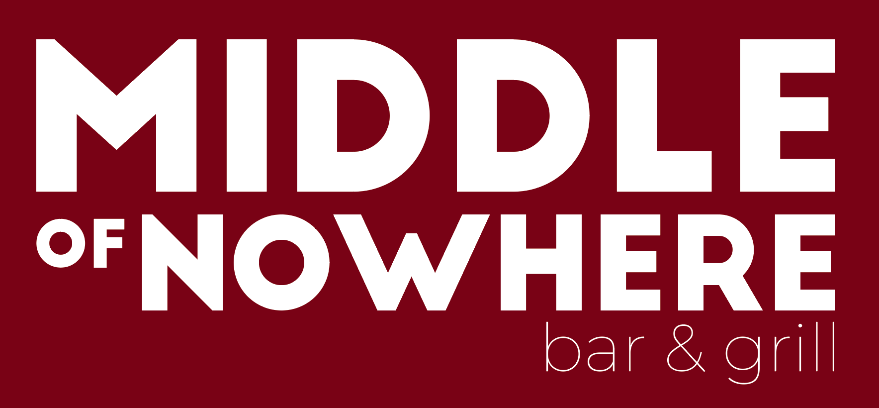 Middle of Nowhere - Logo Concept