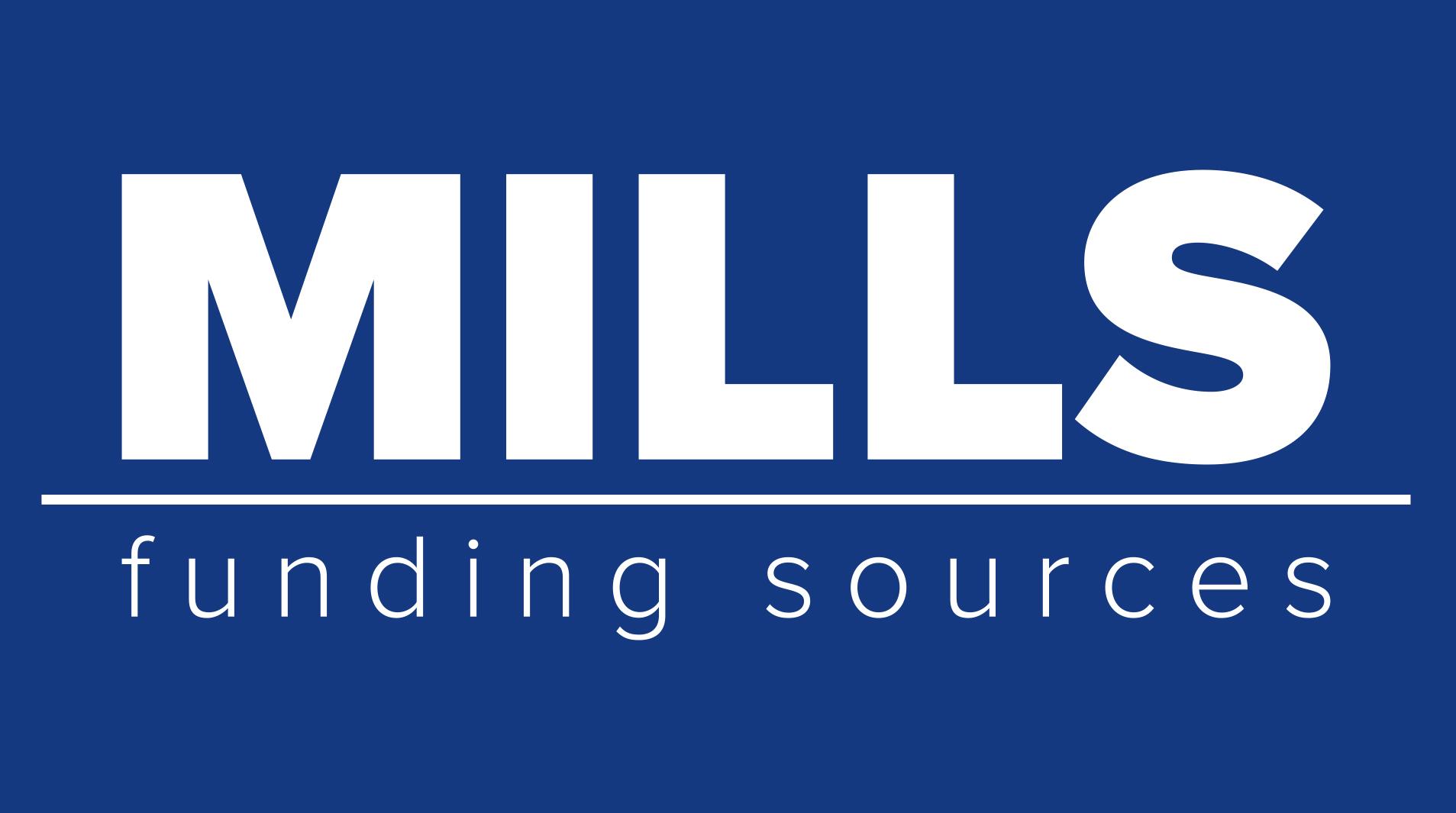 Mills Funding Sources - Logo Design