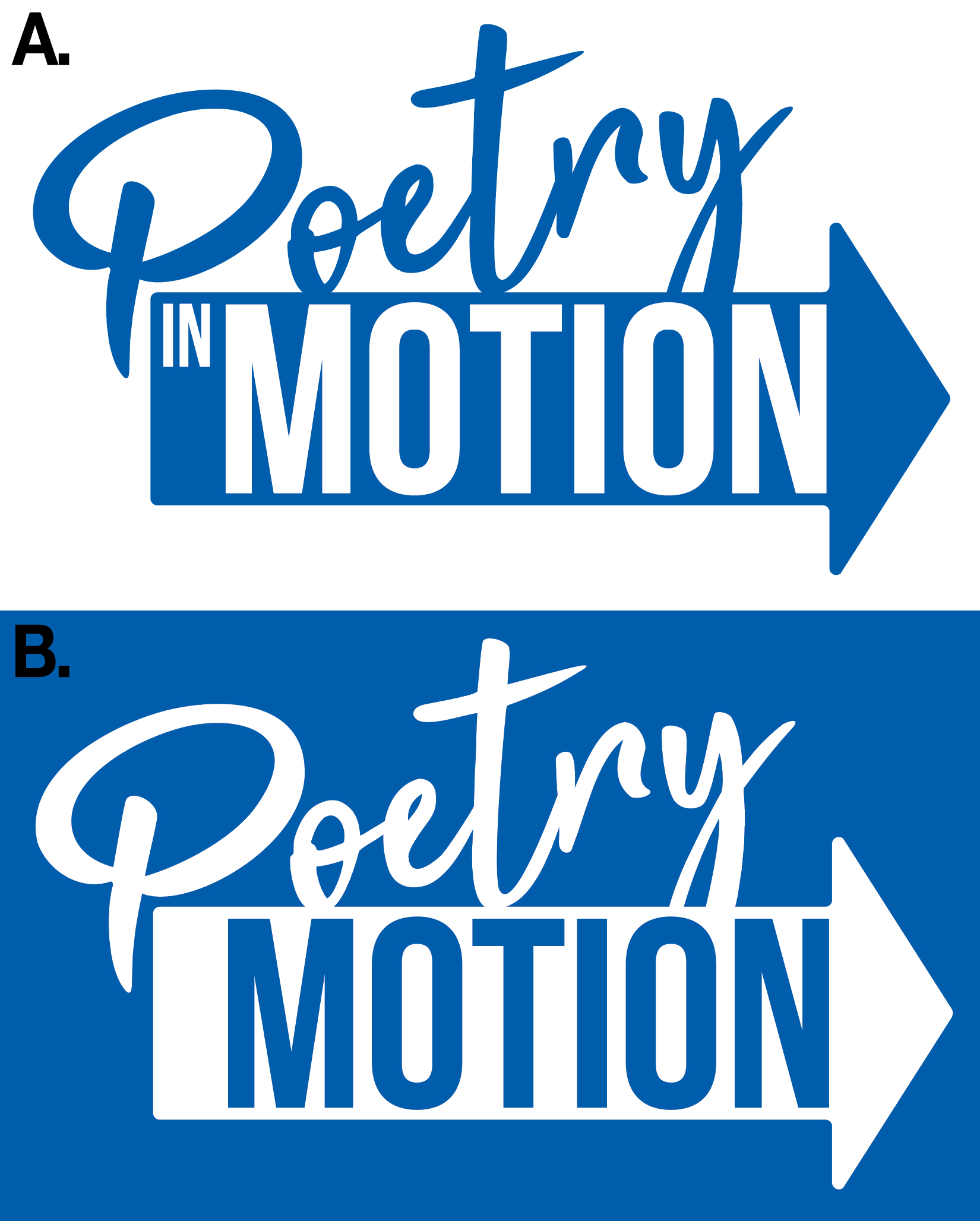 Poetry in Motion - Logo Concept
