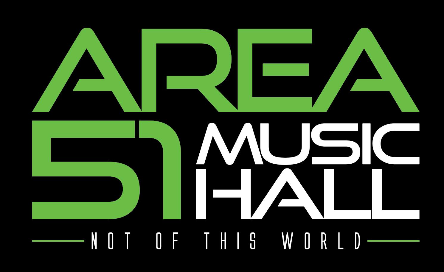 Area 51 Music Hall - Logo Design