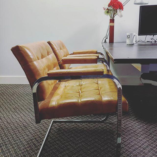 Mmmmm #leather  #coworking