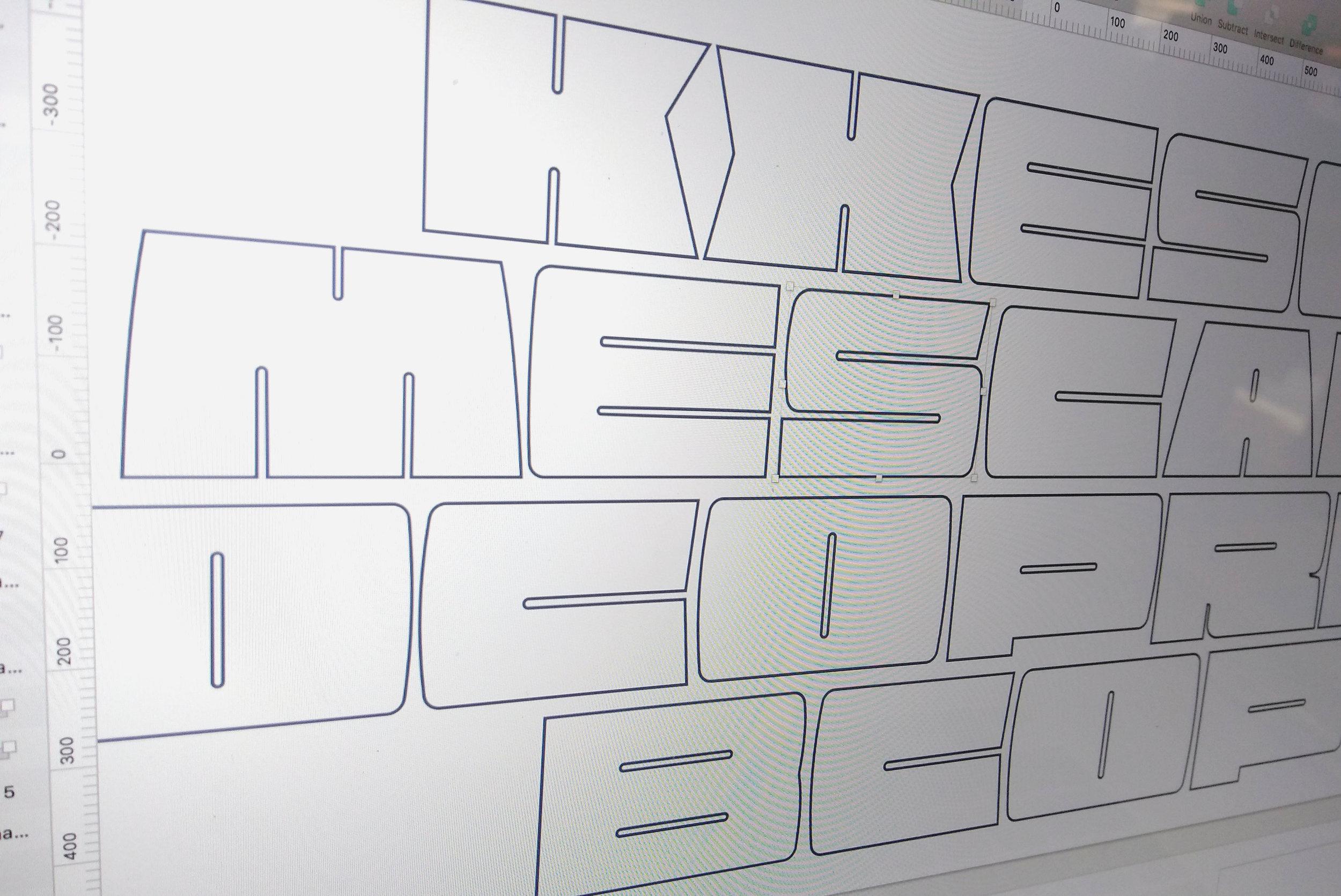 Buscapé Typeface WIP