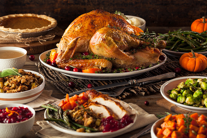 Give thanks with our hassle free menu. -
