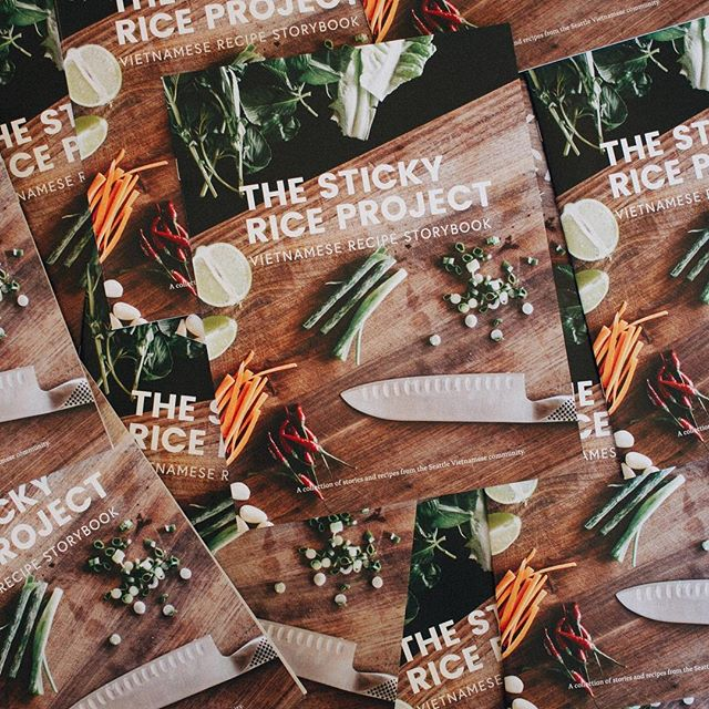Keep a look out for the recipe storybook around Seattle. Share and tag us when you try out a recipe! #xoiconnected #stayhungry #thestickyriceproject //