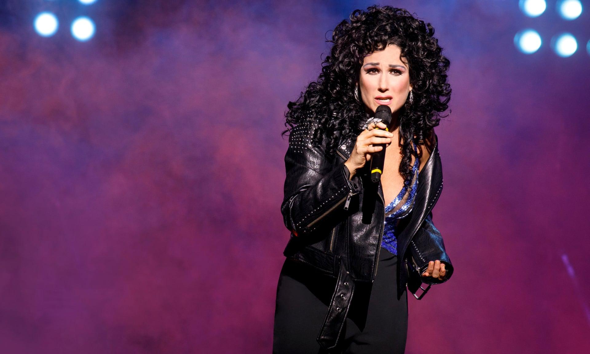 "Stephanie J. Block as Cher ""the star"". Photo Credit: Joan Marcus."
