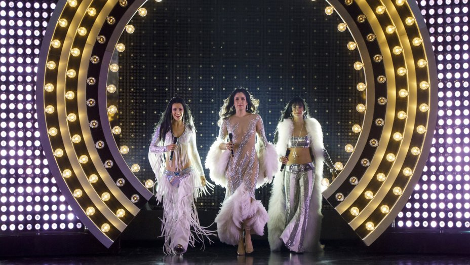 Teal Wicks, Stephanie J. Block, and Micaela Diamond as Cher. Photo Credit: Joan Marcus.