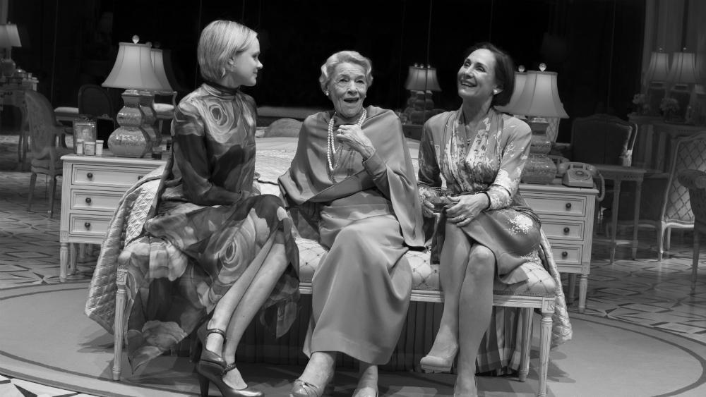 "Alison Pill, Glenda Jackson, and Laurie Metcalf in ""Three Tall Women"". Photo Credit: Brigitte Lacombe."