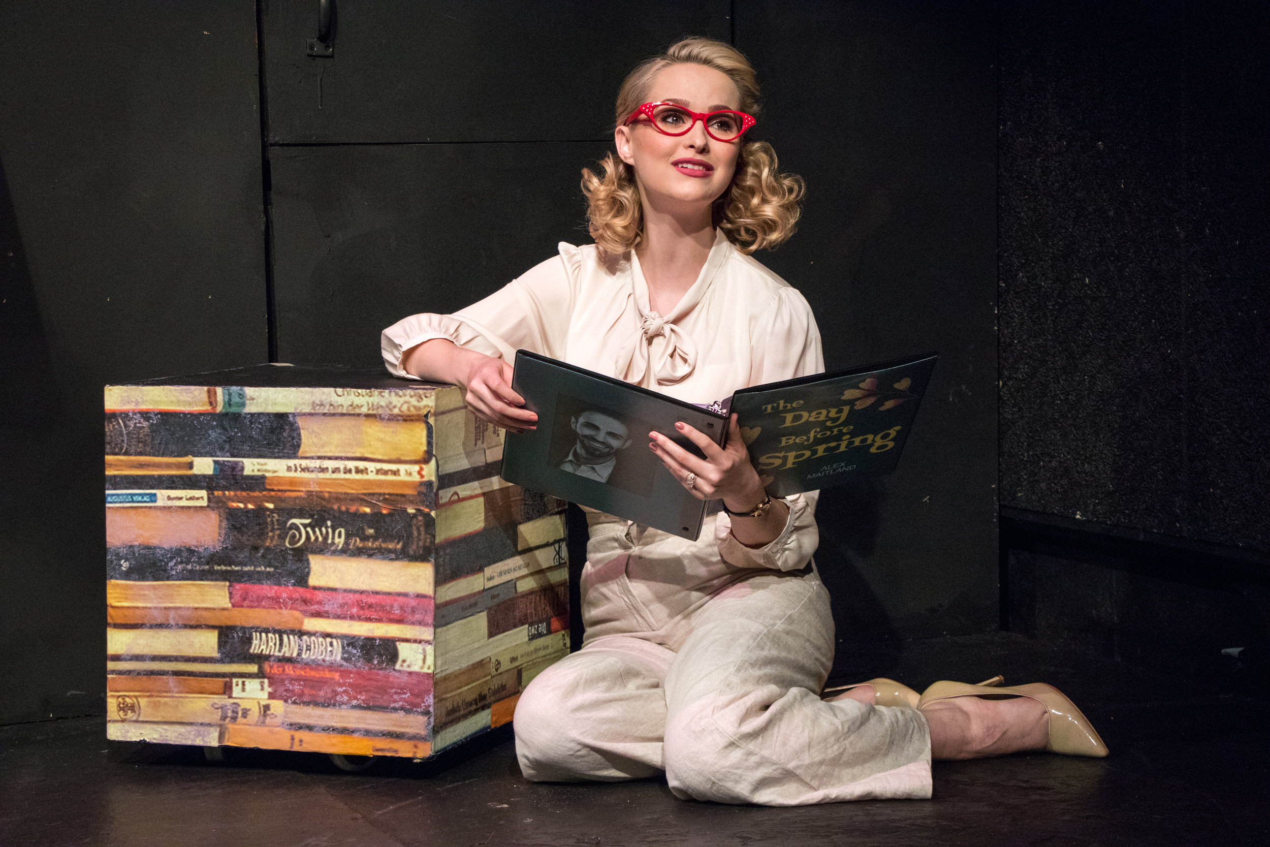 """Madison Claire Parks as Katherine Talbot in """"The Day Before Spring"""". Photo Credit: Ben Strothmann"""