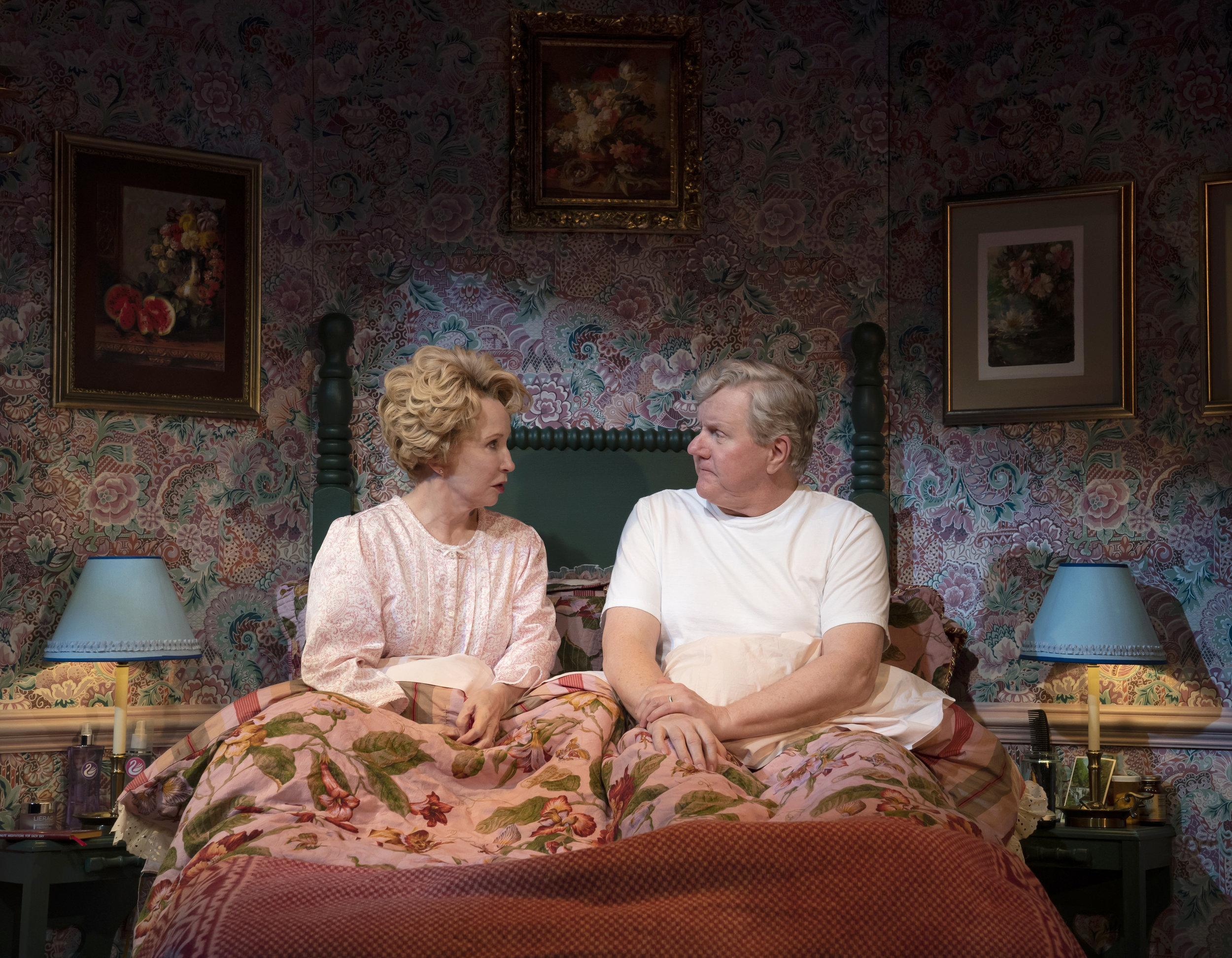 Debra Jo Rupp and Dan Daily. Photo Credit: Joan Marcus.