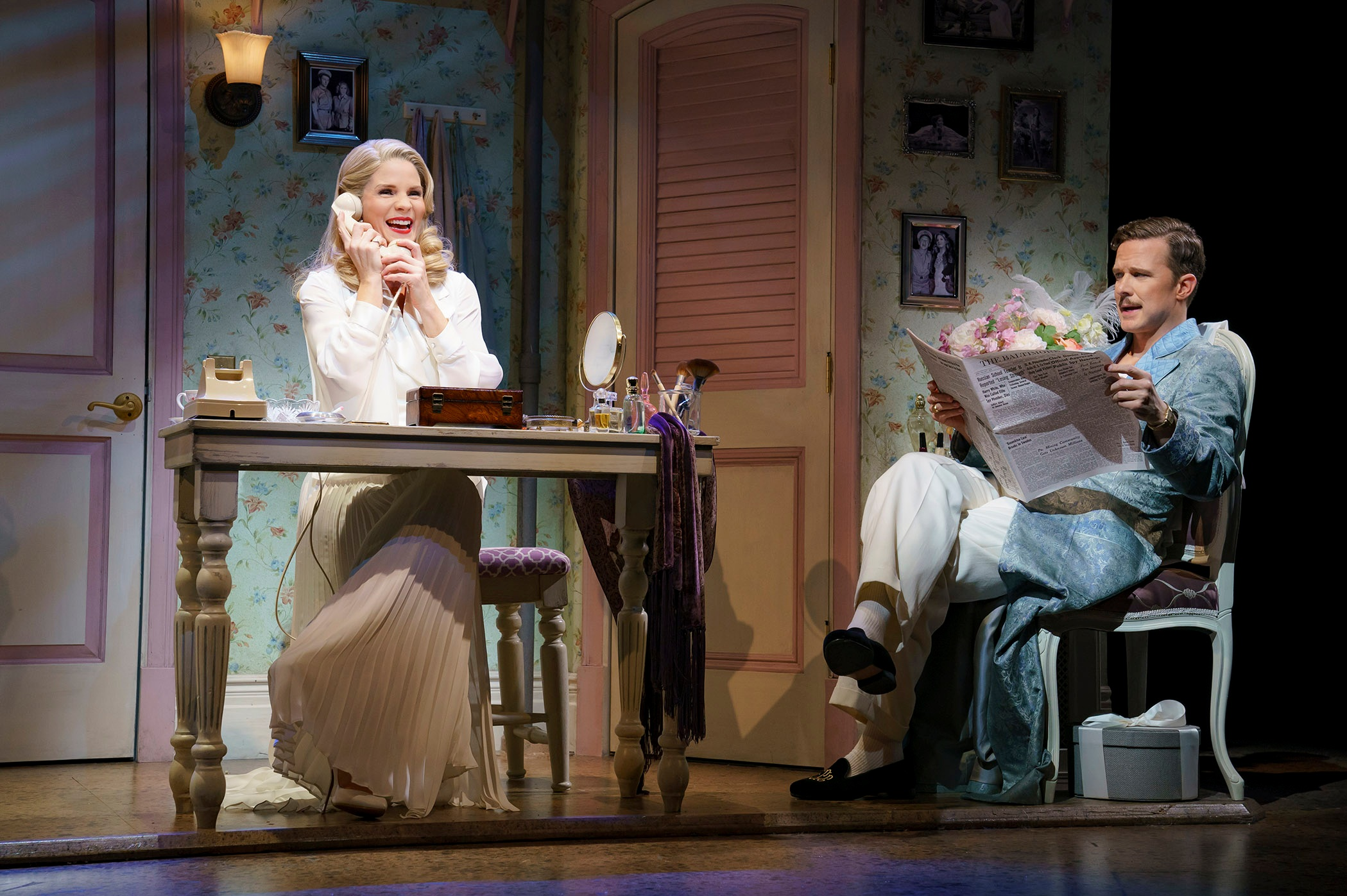 Kelli O'Hara and Will Chase. Photo Credit: Joan Marcus