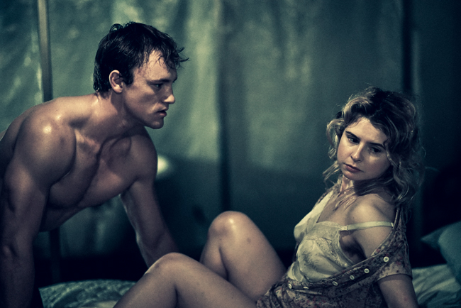 "Max Carpenter and Isabel Ellison in ""A Streetcar Named Desire"". Photo Credit: Rosie Soko."