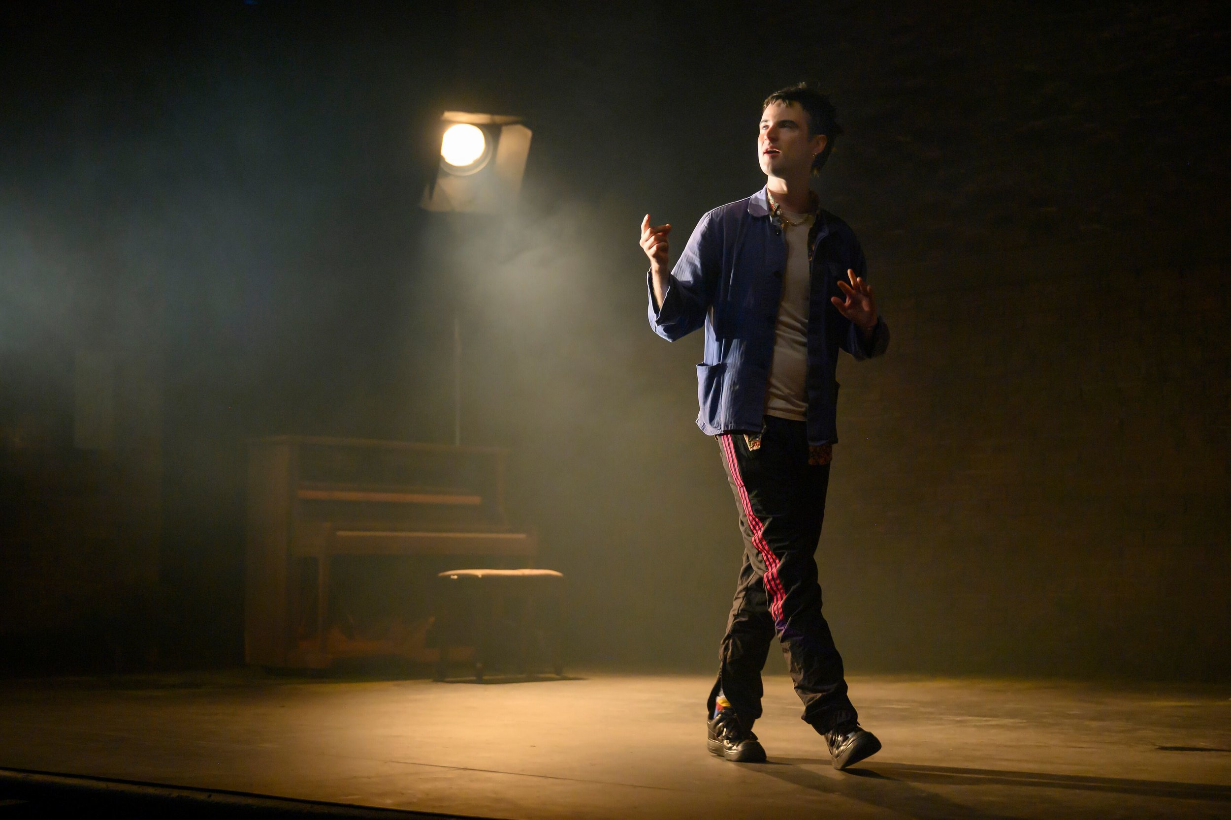 "Tom Sturridge in ""Sea Wall"". Photo Credit: Hubert Smith"