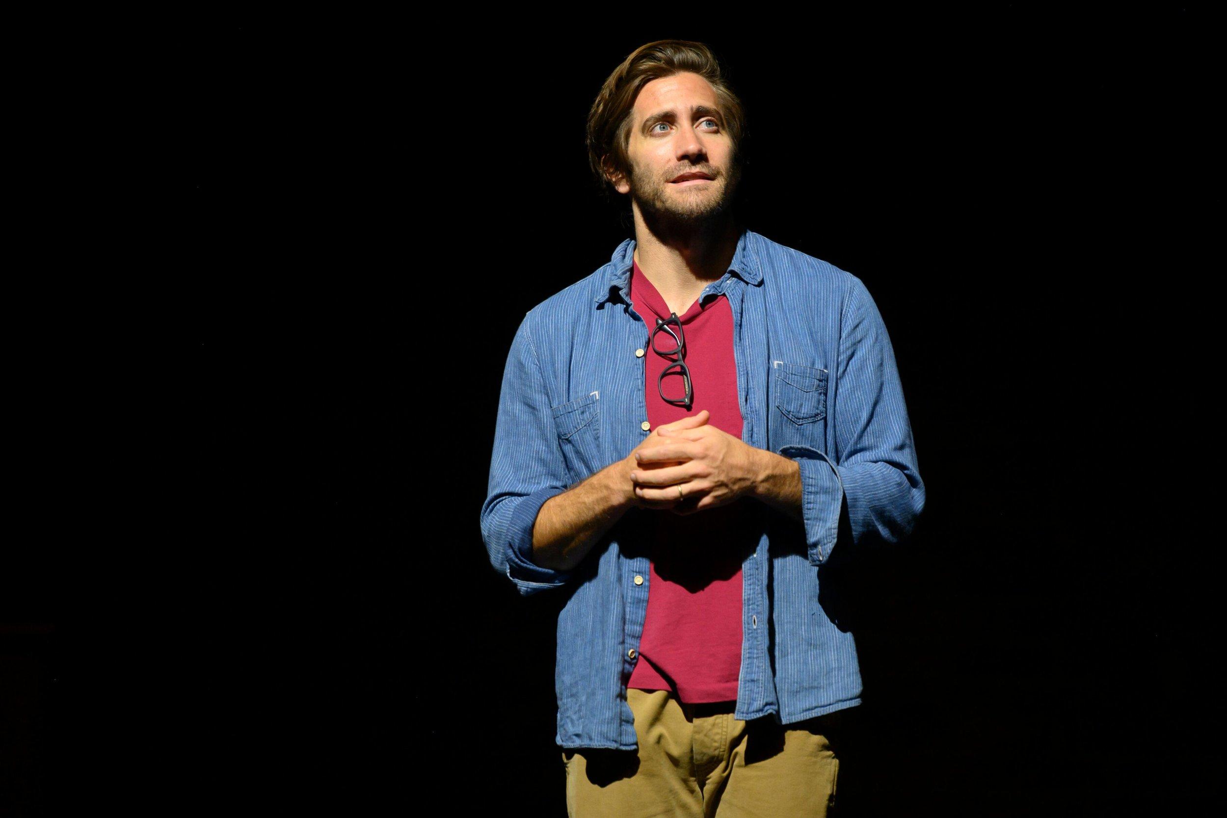 "Jake Gyllenhaal in ""A Life"". Photo Credit: Hubert Smith"