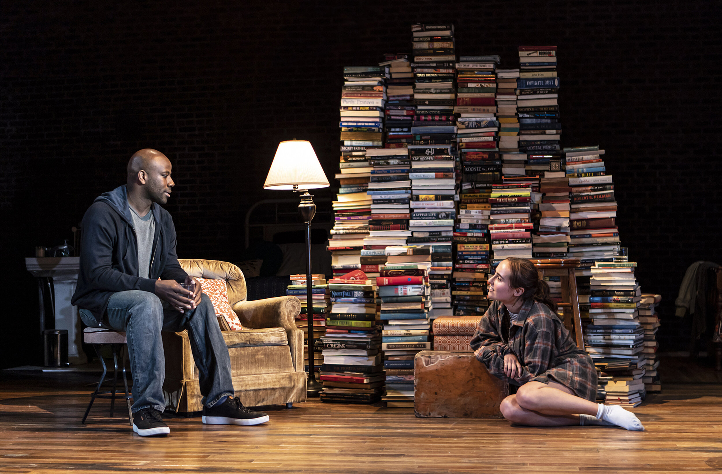 Maurice Jones and Sadie Scott. Photo Credit: Monique Carboni.