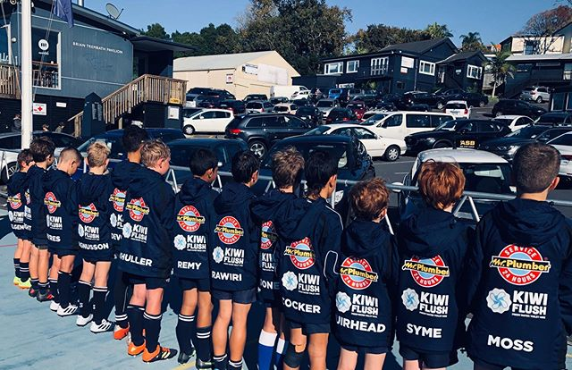 #kiwiflush proudly supporting the unbeatable #u10shooters #collegerifles #juniorrugby