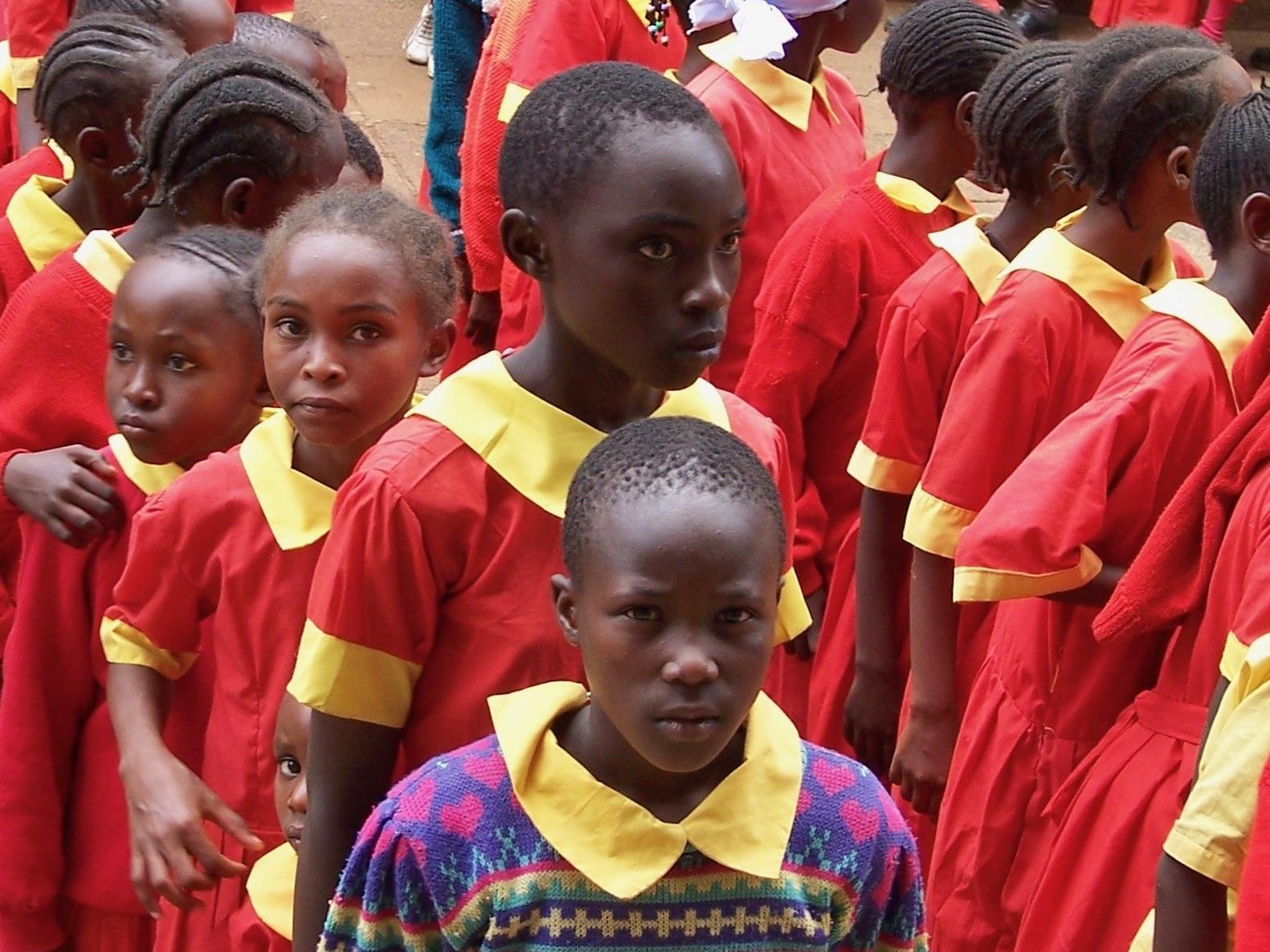 Students at the National Museum, Nairobi