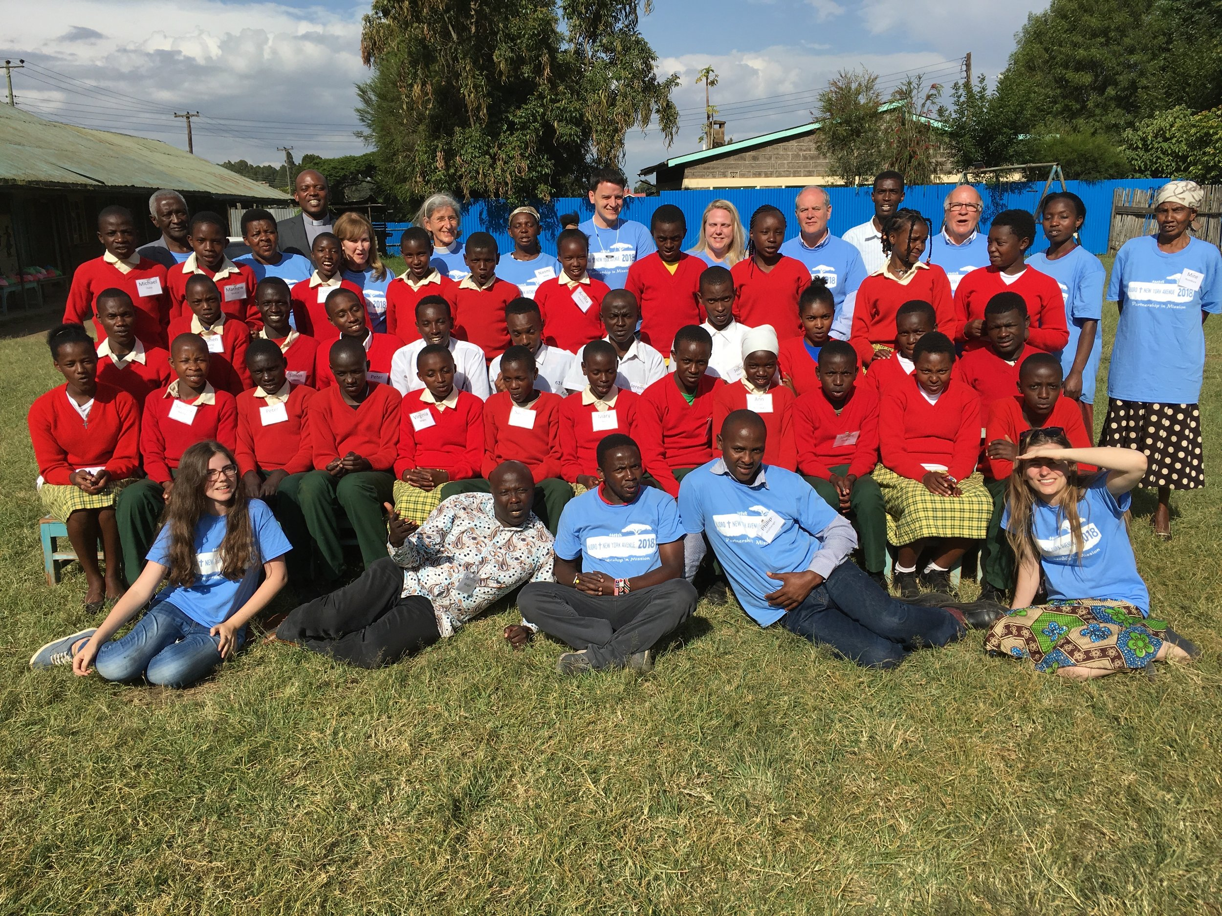Orphan and Vulnerable Children - 2018 Njoro Mission Trip - A mission group from New York Avenue Presbyterian Church in Washington, DC completed a trip to Njoro, Kenya in August of 2018. The Orphan and Vulnerable Children program supports children in Njoro with housing, schooling, and spiritual support. Nine travelers participated with the students in worship, Vacation Bible School, and fellowship. Gifts were provided for all the students, and the group re-connected with four students who had visited Washington in 2017. For more information, read this report provided by Rev. Beth Braxton: Report of 2018 Njoro Mission Trip