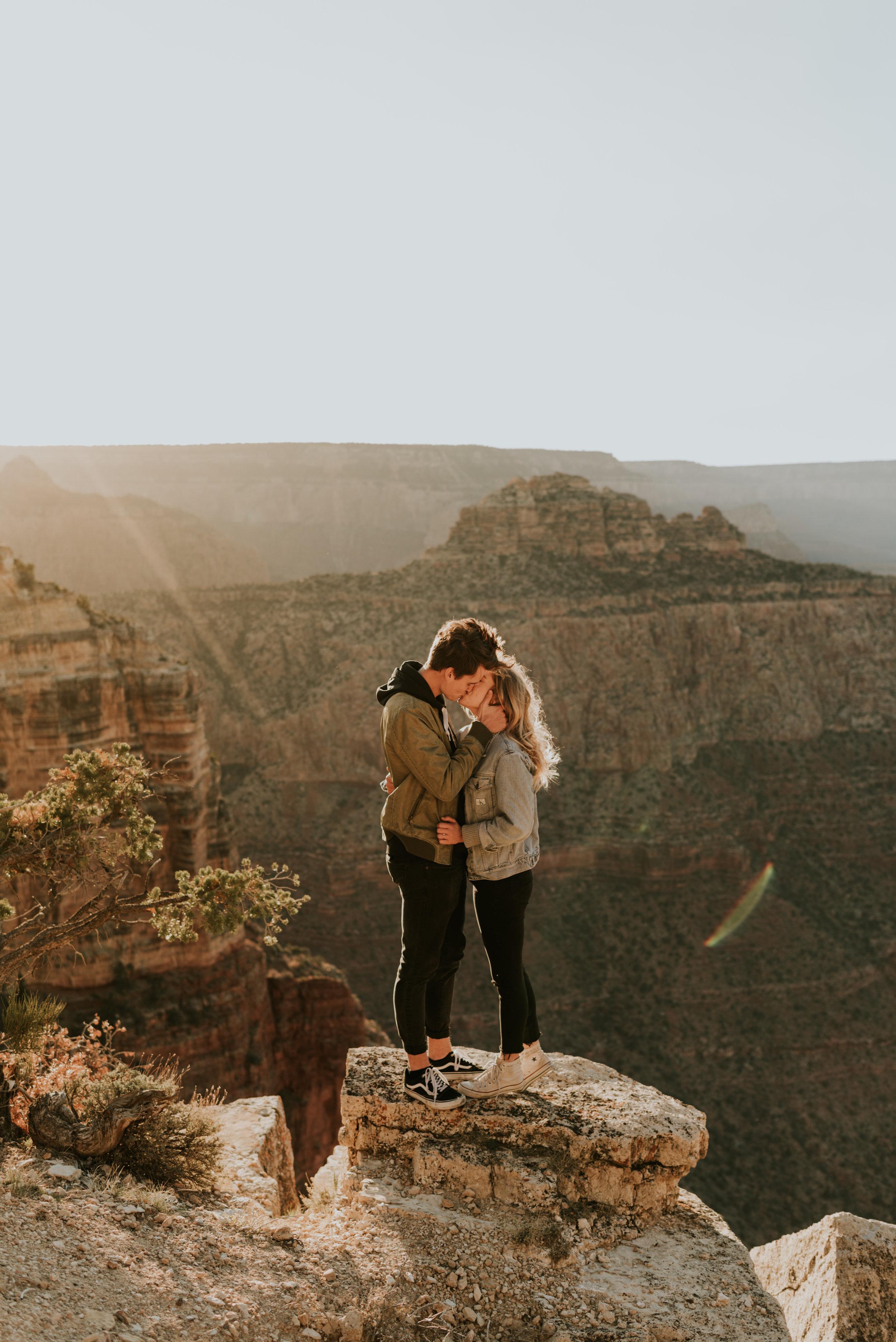 Grand Canyon Couples Shoot Arizona Adventure Session