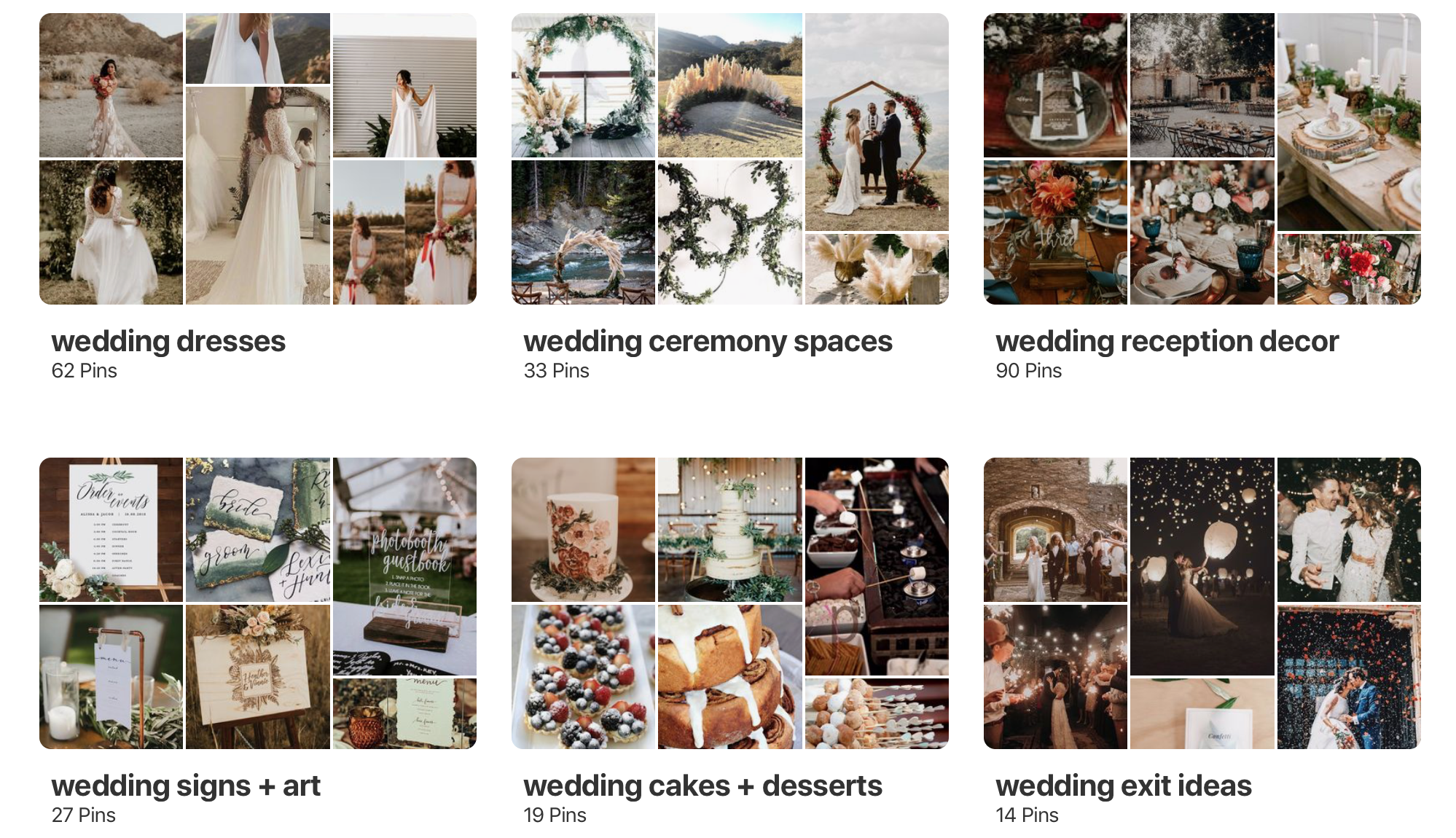 naming your pinterest boards