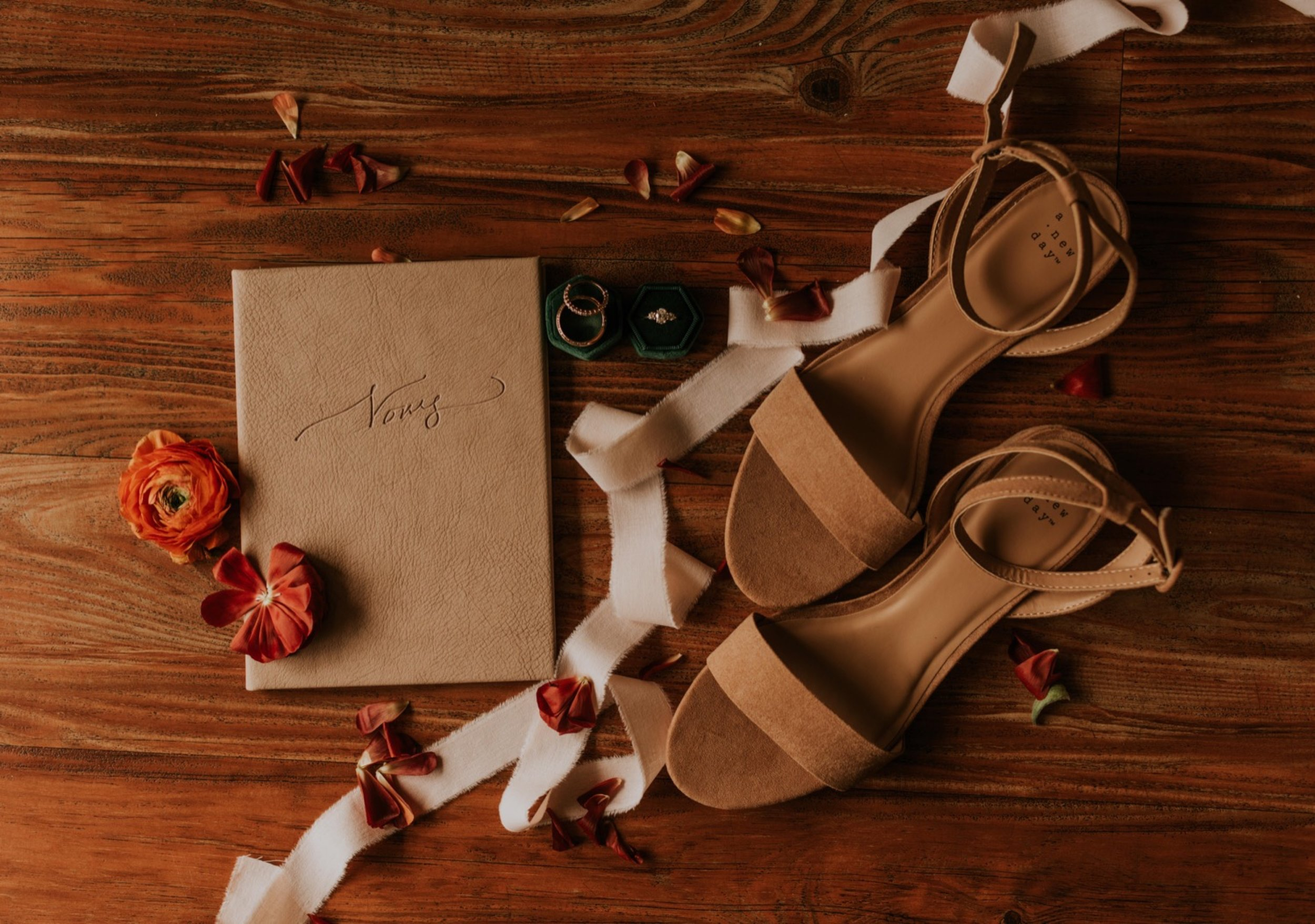 Santa Barbara Wedding at the Carousel House | Wedding Flatlay Details | Carrie Rogers Photography