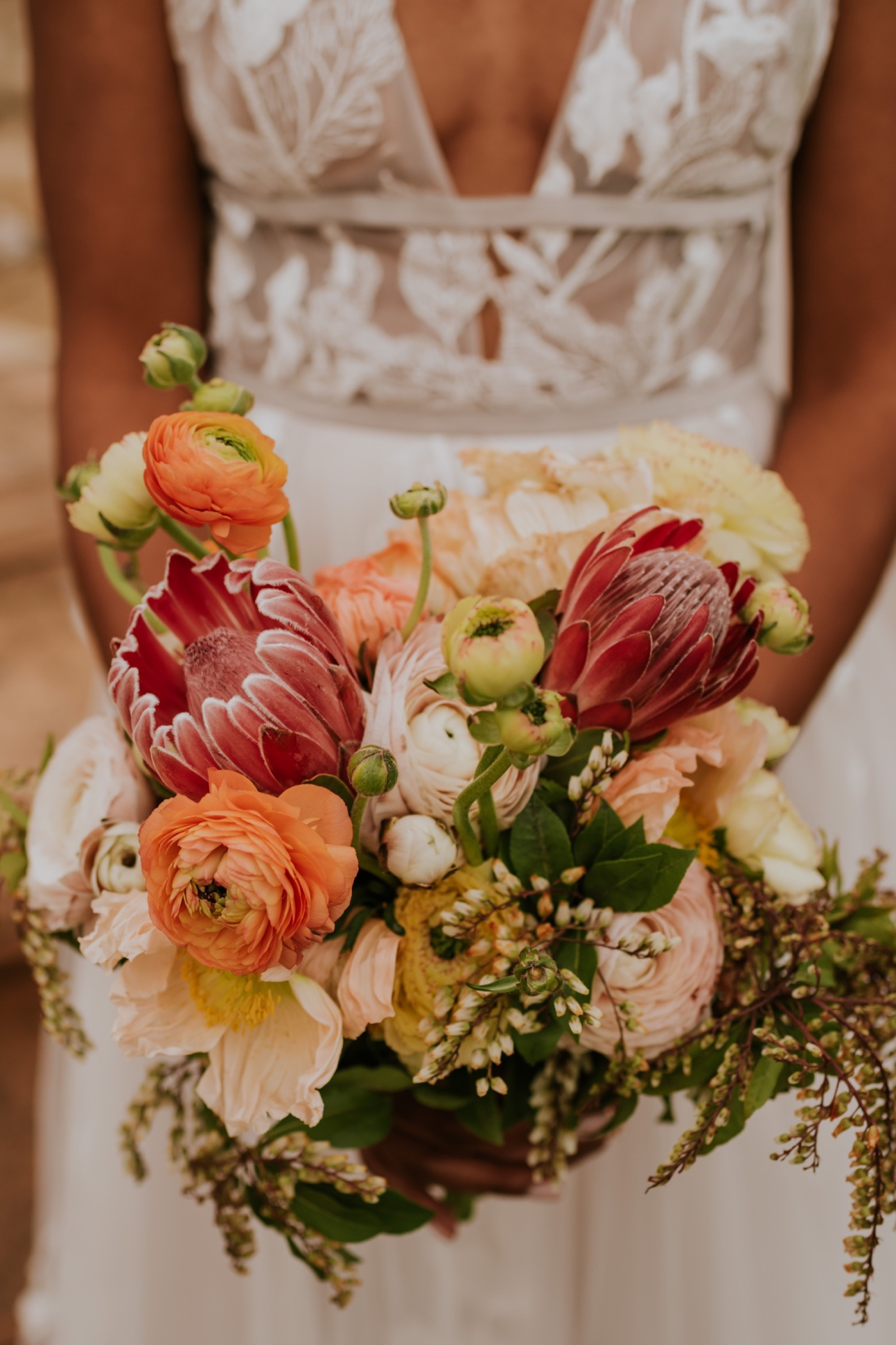 Santa Barbara Wedding at the Carousel House | Bridal Bouquet | Carrie Rogers Photography