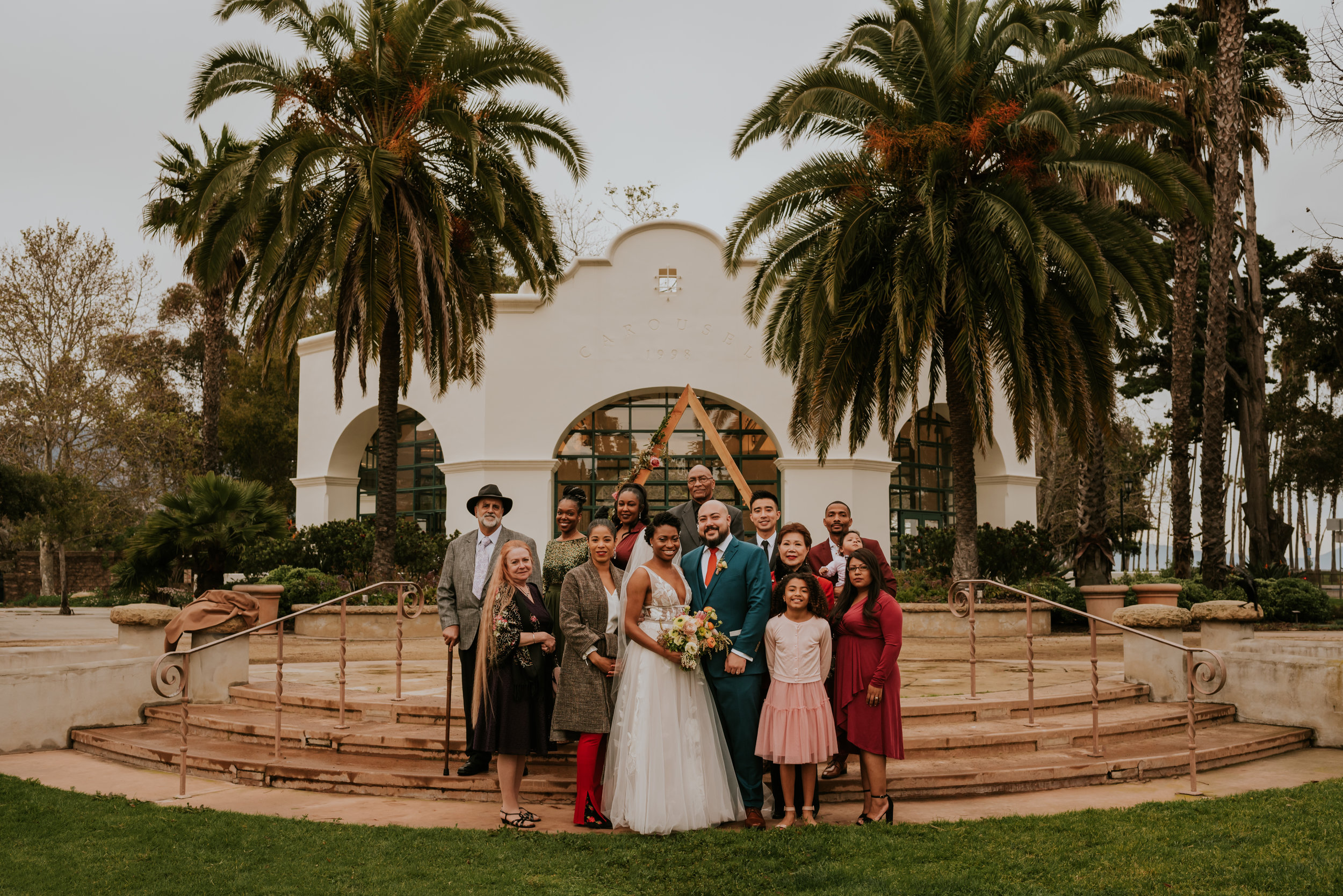 Santa Barbara Wedding at the Carousel House | Carrie Rogers Photography