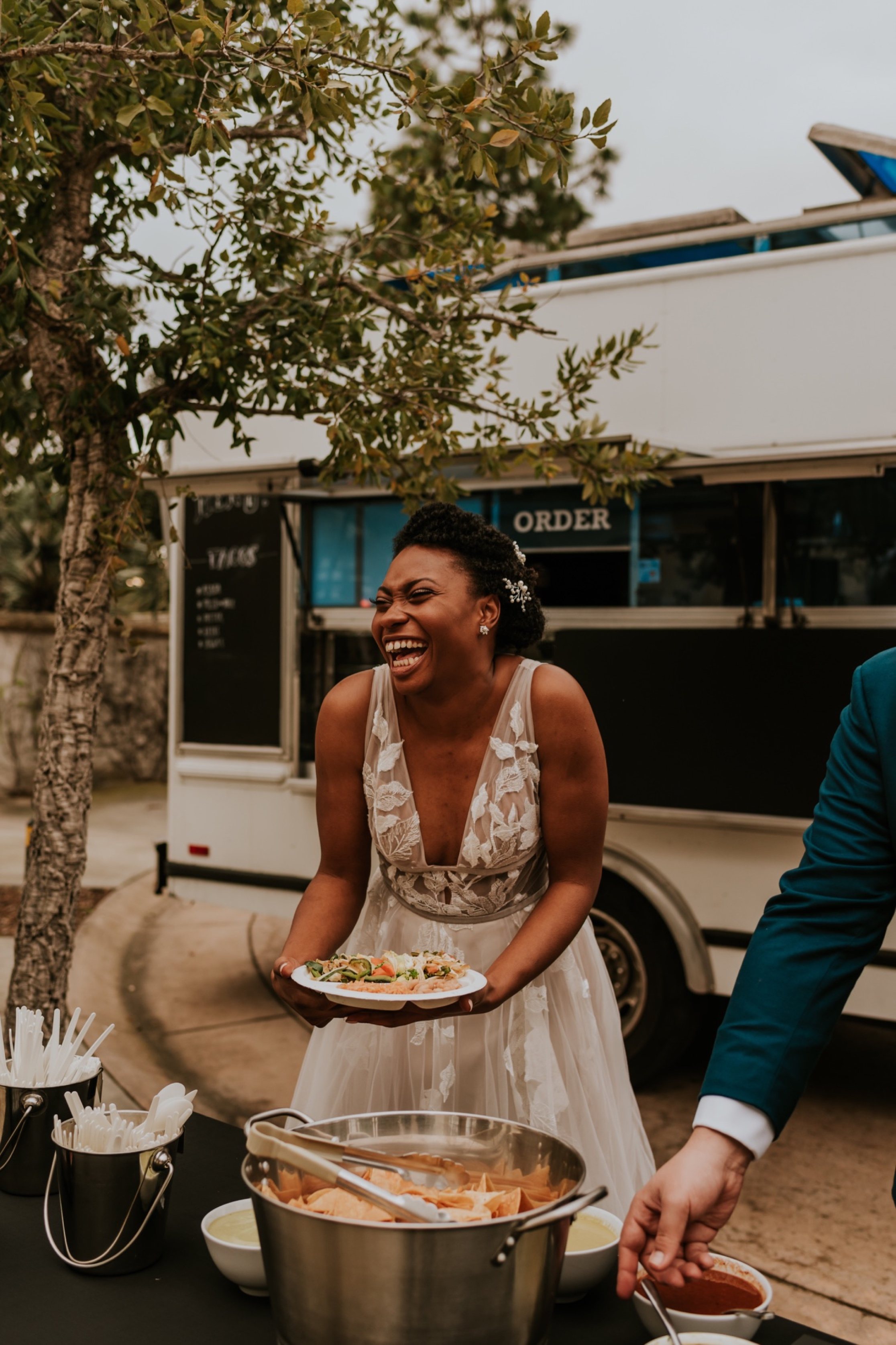 Santa Barbara Wedding at the Carousel House | Food Truck Reception | Carrie Rogers Photography