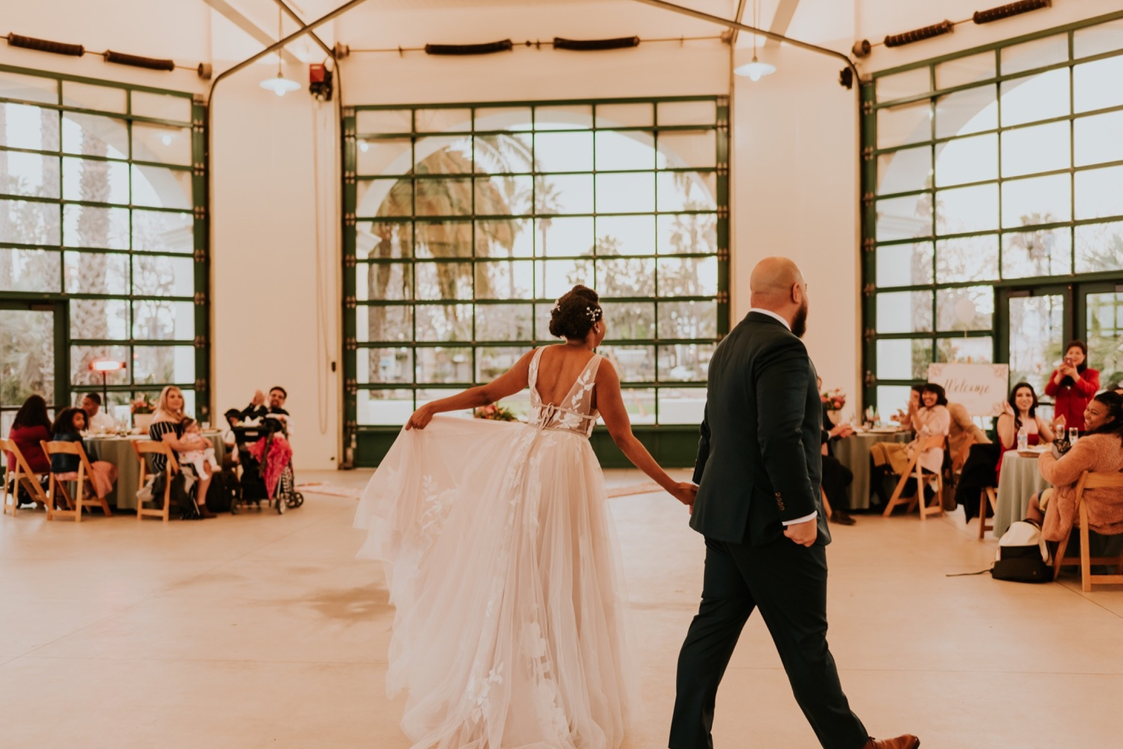 Santa Barbara Wedding at the Carousel House | First Dance | Wedding Reception | Carrie Rogers Photography