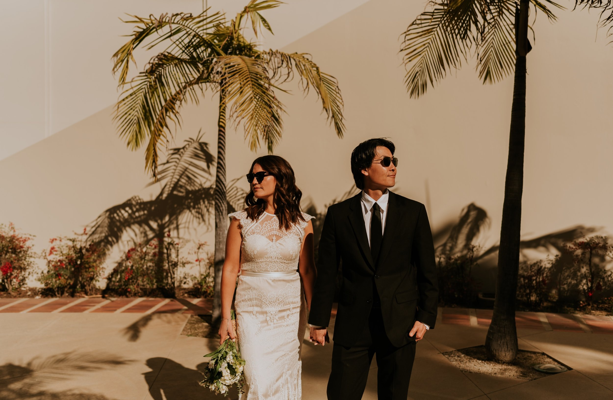 Santa Monica Pier Wedding Photos | Carrie Rogers Photography | Santa Monica Beach Wedding | Beverly Hills Elopement | Beverly Hills Wedding