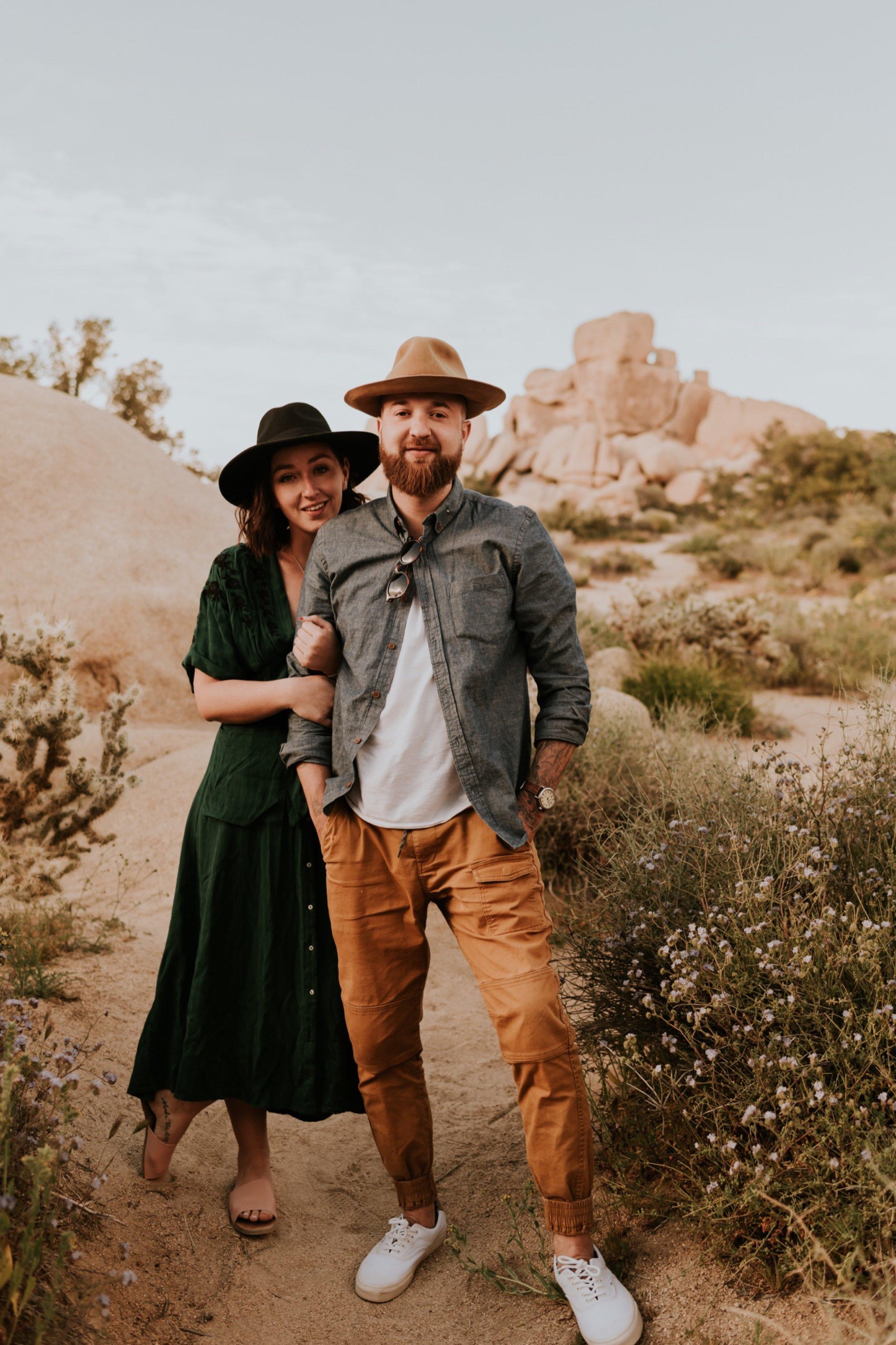 Couples Photoshoot In Joshua Tree National Park