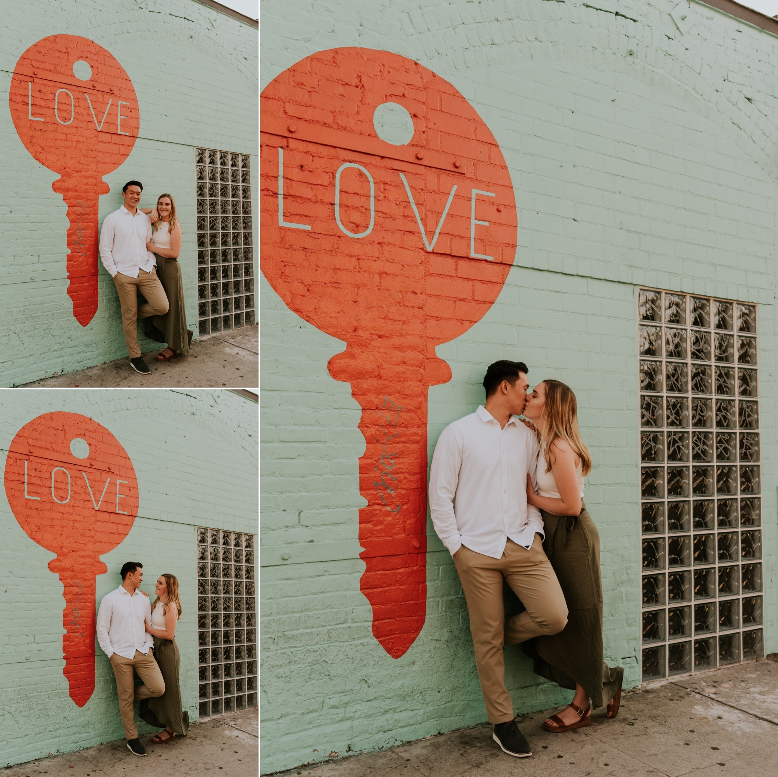 Downtown Los Angeles Engagement Session | Carrie Rogers Photography | California Wedding and Elopement Photographer | #engaged #couple #relationshipgoals #couplegoals #engagementphotos