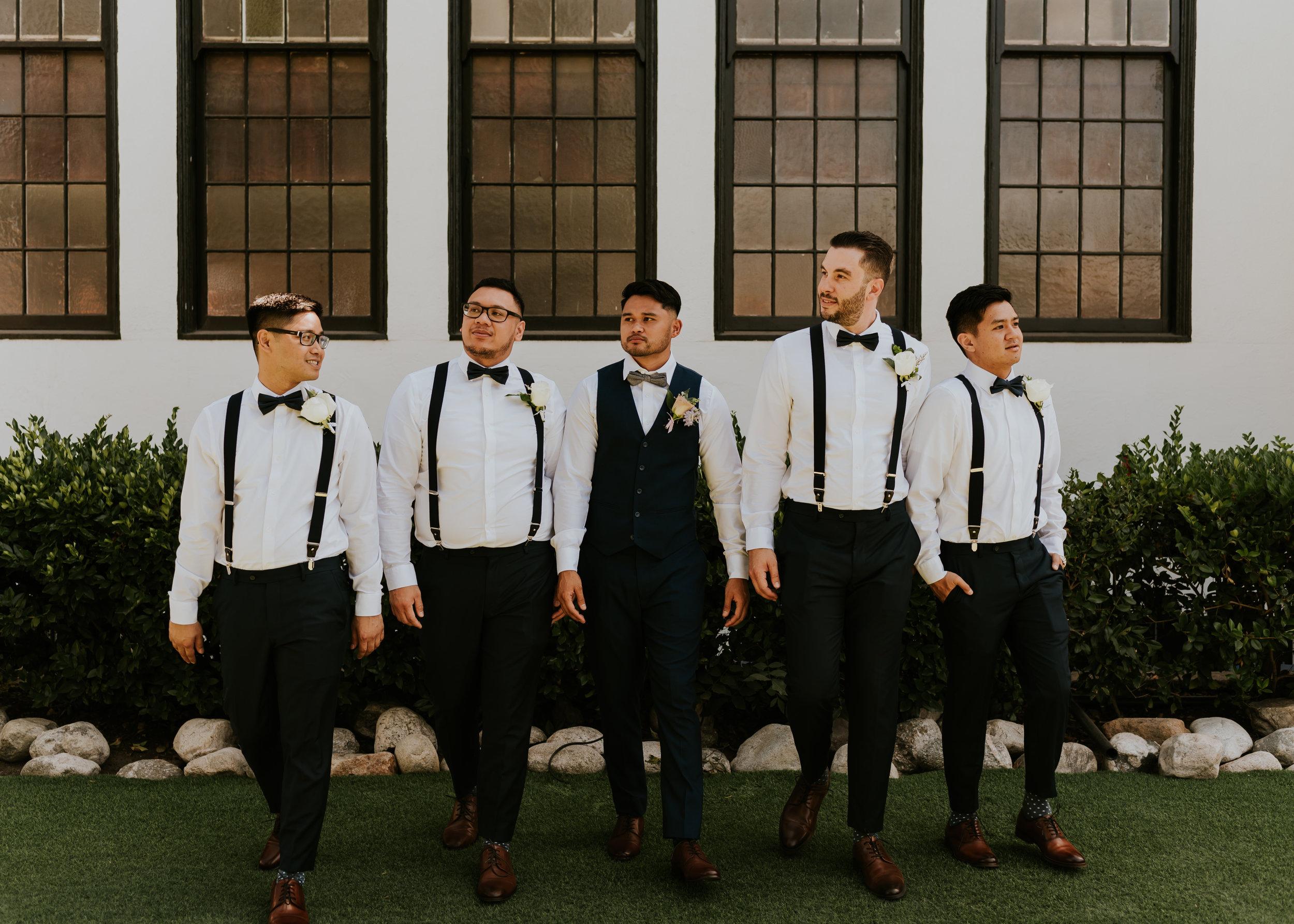 York Manor Wedding | Los Angeles, California | Los Angeles Wedding Photographer | Bridal Party