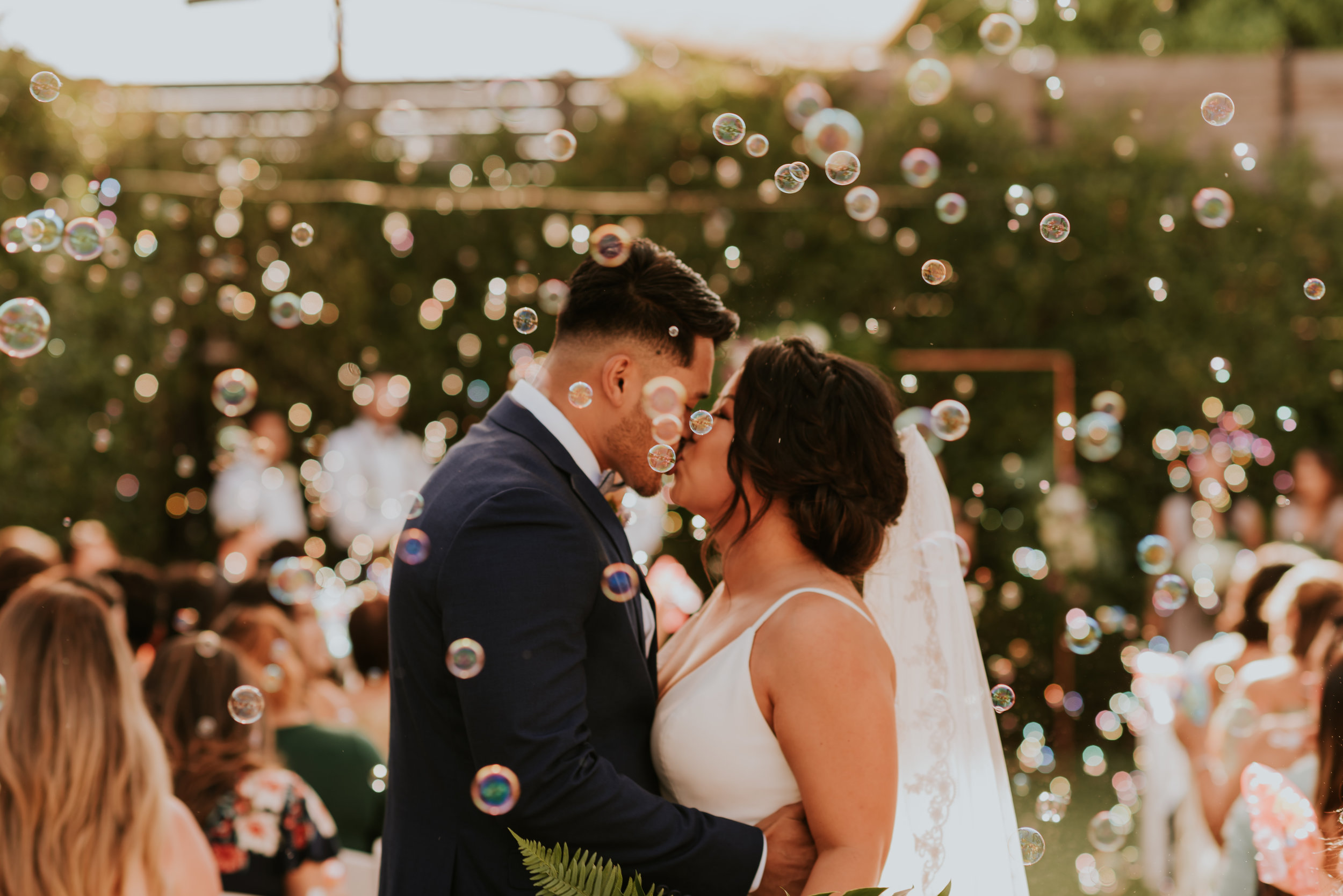 York Manor Wedding | Bubble Exit | Los Angeles, California | Los Angeles Wedding Photographer | Carrie Rogers Photography