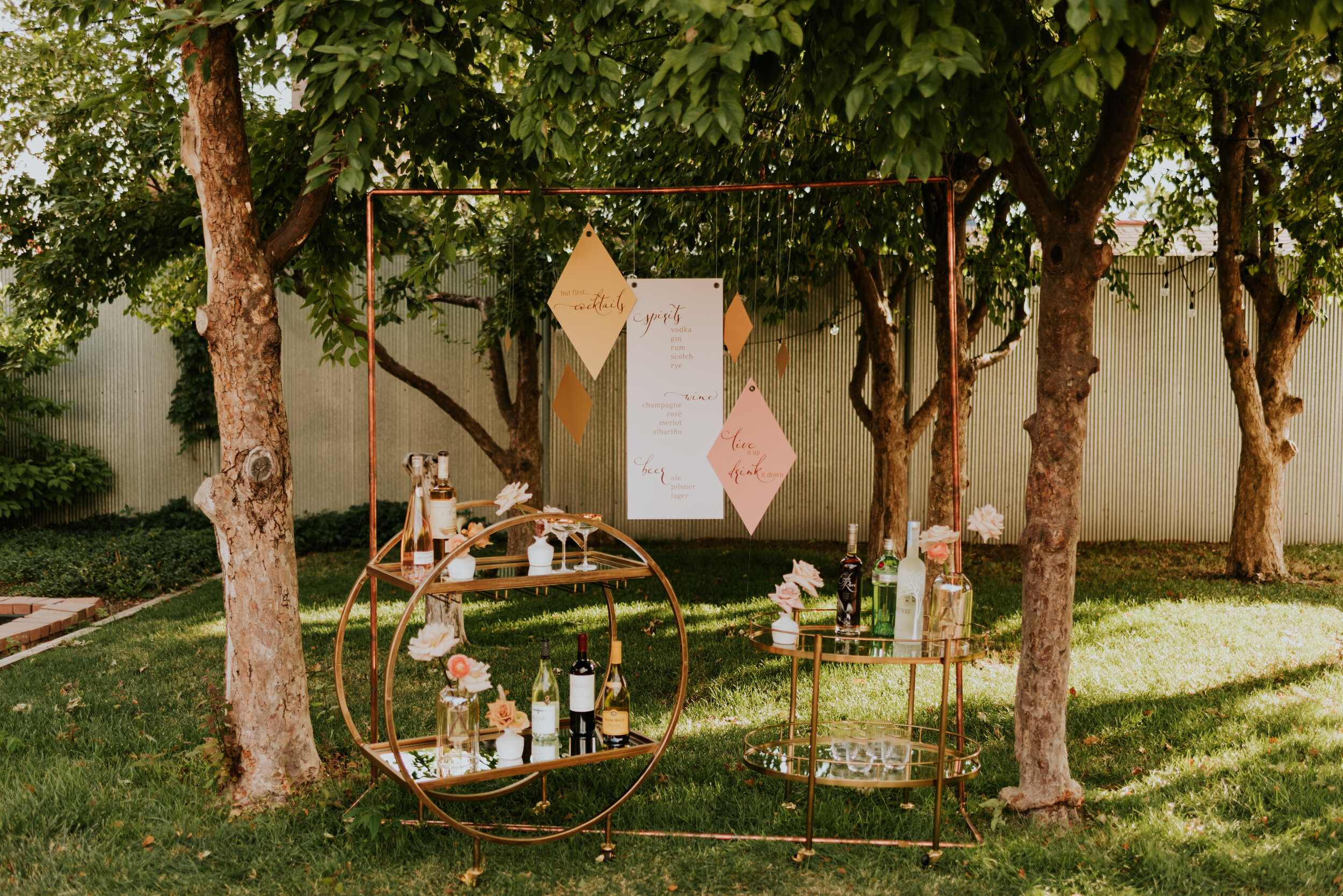 Blanc - Denver, Colorado Wedding Venue | Colorado Wedding Photography - Carrie Rogers Photography | Cocktail Hour Inspo