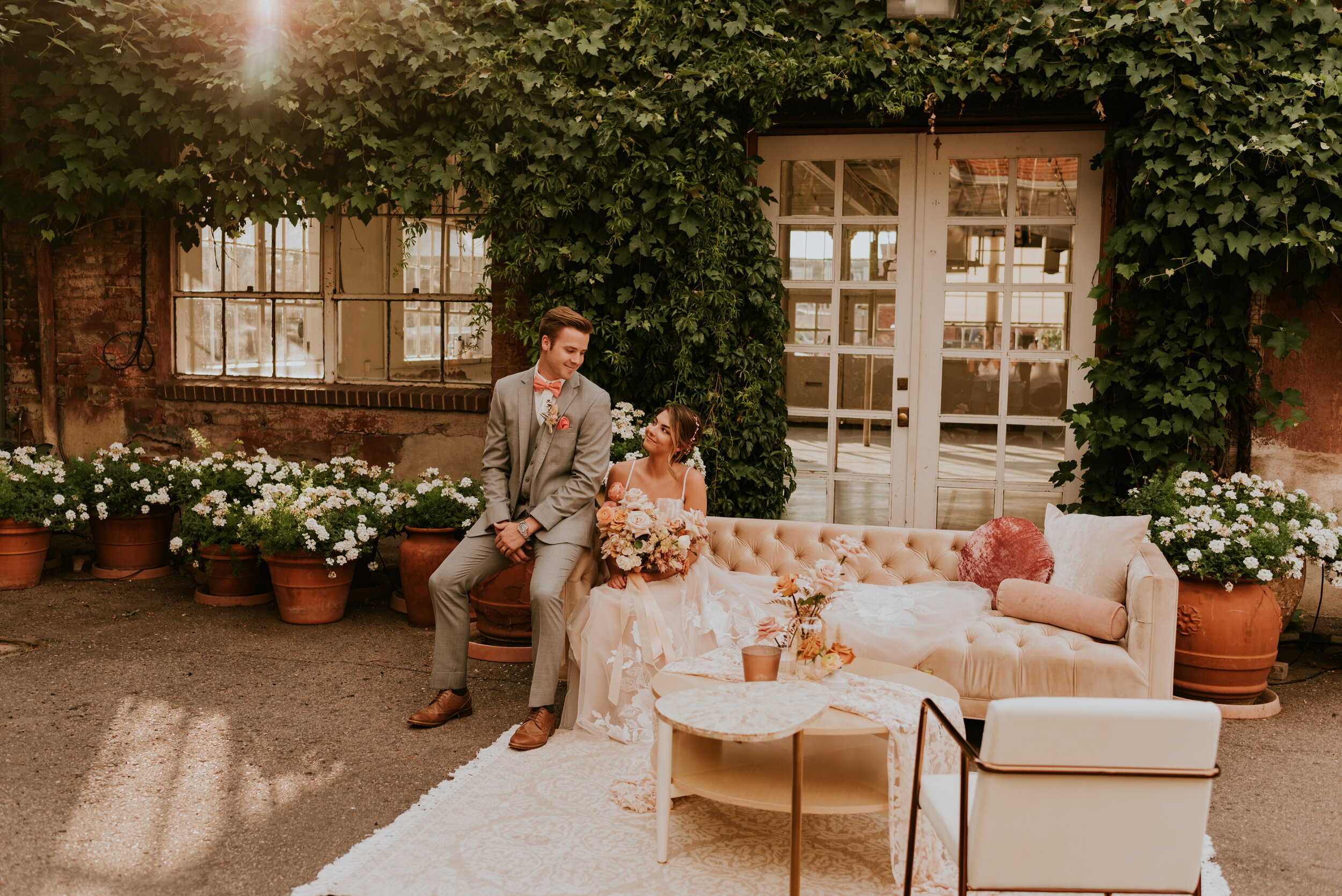 Blanc - Denver, Colorado Wedding Venue | Eclectic and Versatile Wedding Venue | Colorado Wedding Photography - Carrie Rogers Photography