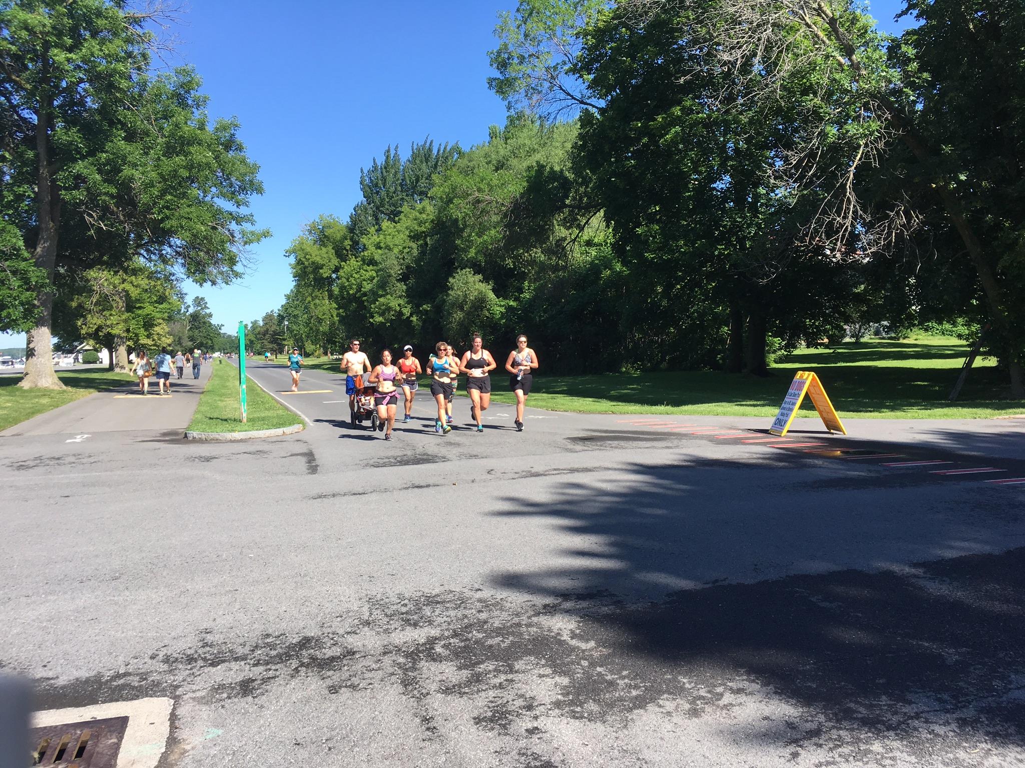 2017 Global Sports Bra Squad Run at Onondaga Lake Park, Syracuse, NY.