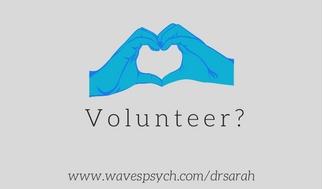 Will you volunteer?